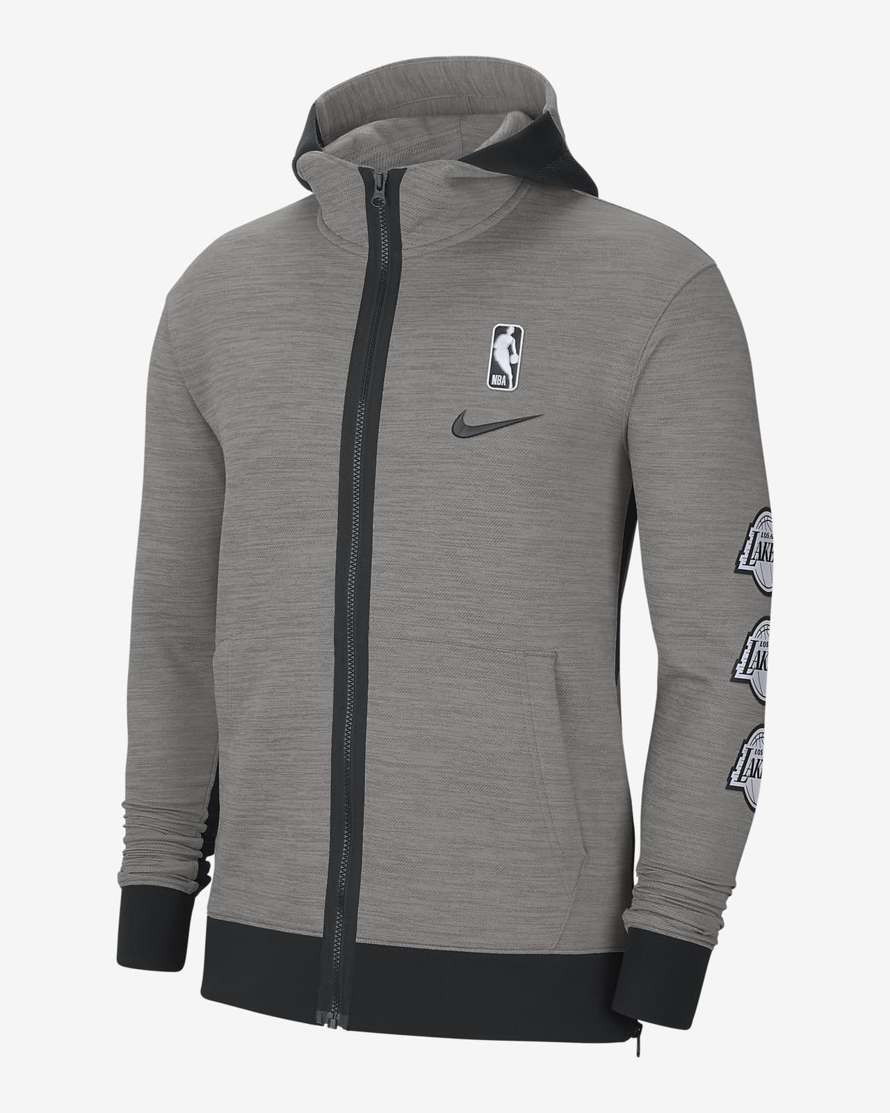 Hoodie NBA Nike Therma Flex Los Angeles Lakers Showtime para homem