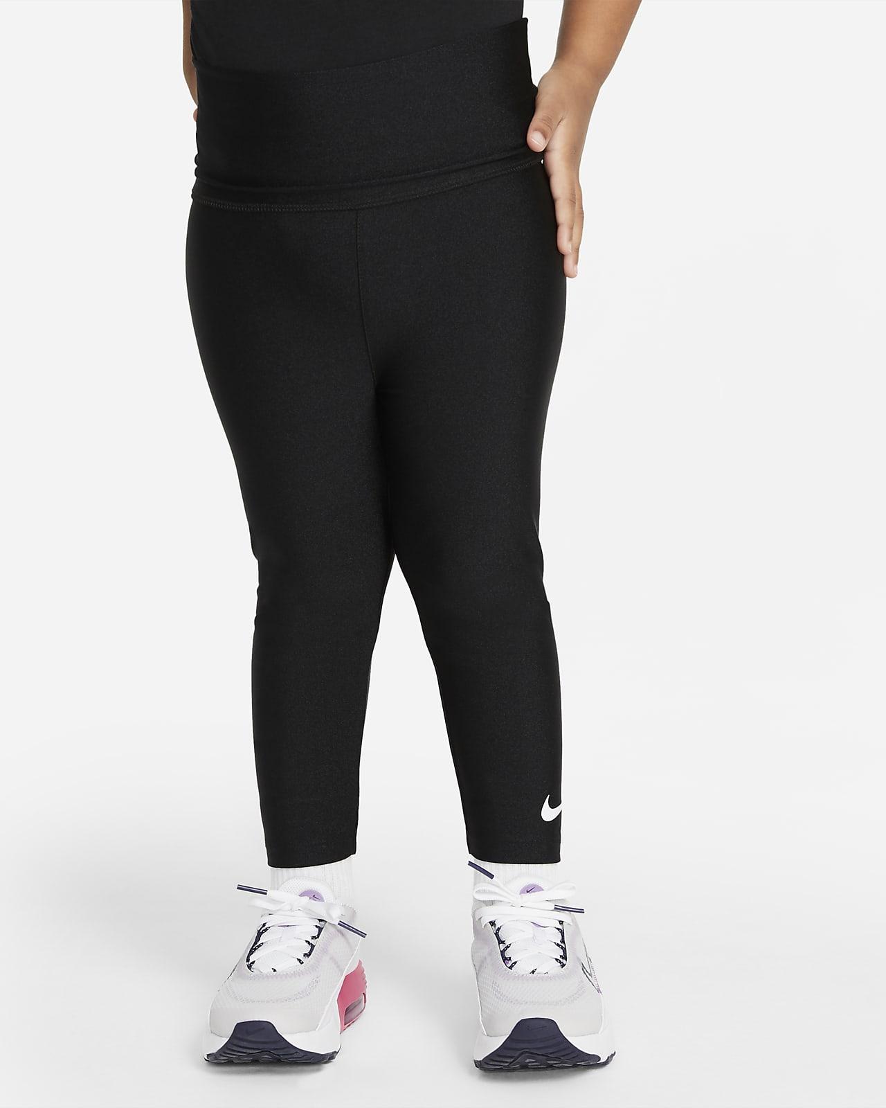 Nike-leggings med høj talje til småbørn