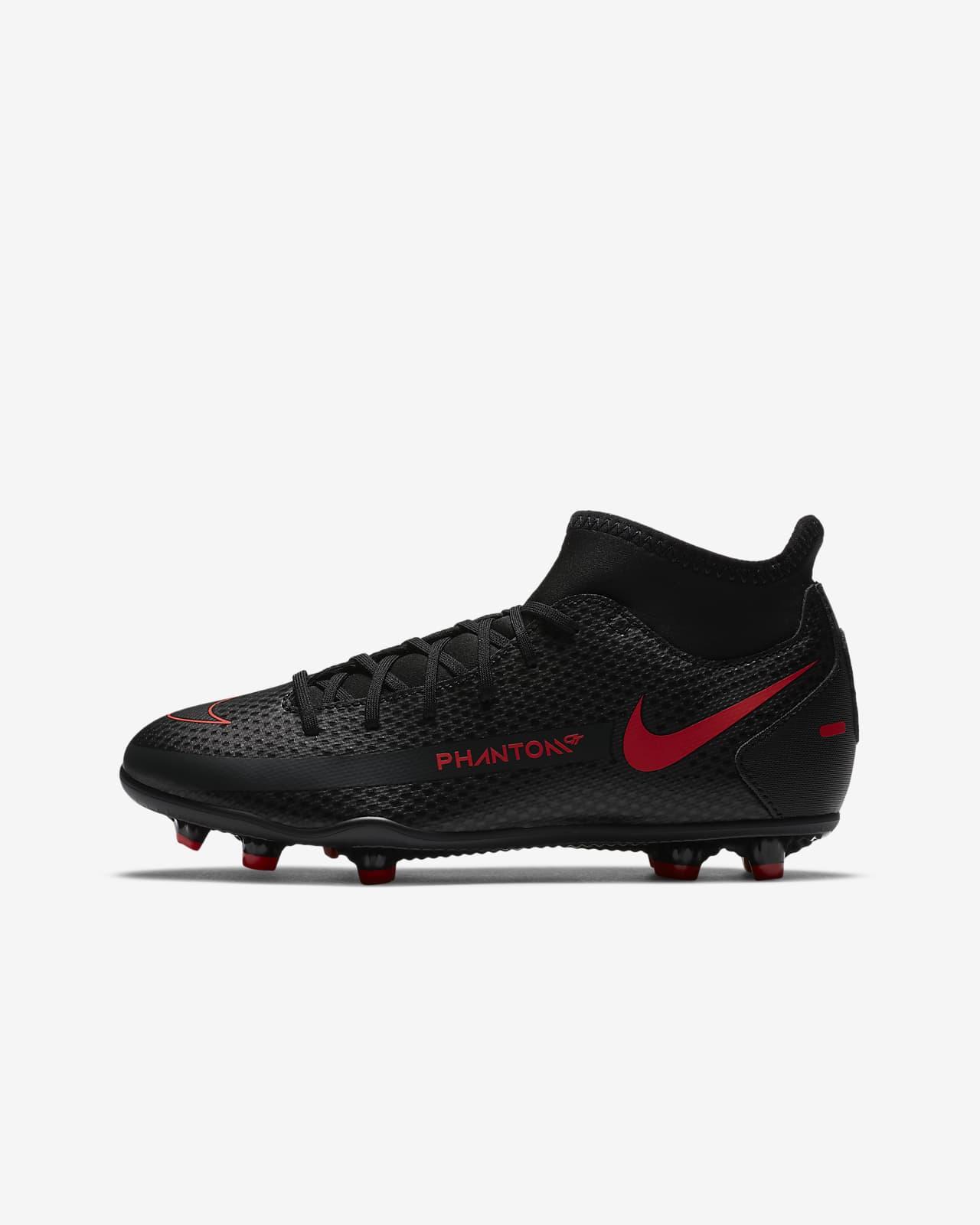 Buty piłkarskie na różne typy nawierzchni dla małych/dużych dzieci Nike Jr. Phantom GT Club Dynamic Fit MG