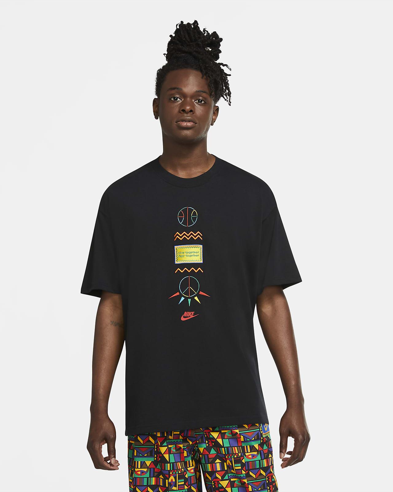 เสื้อยืดผู้ชายผลิตซ้ำ Nike Sportswear