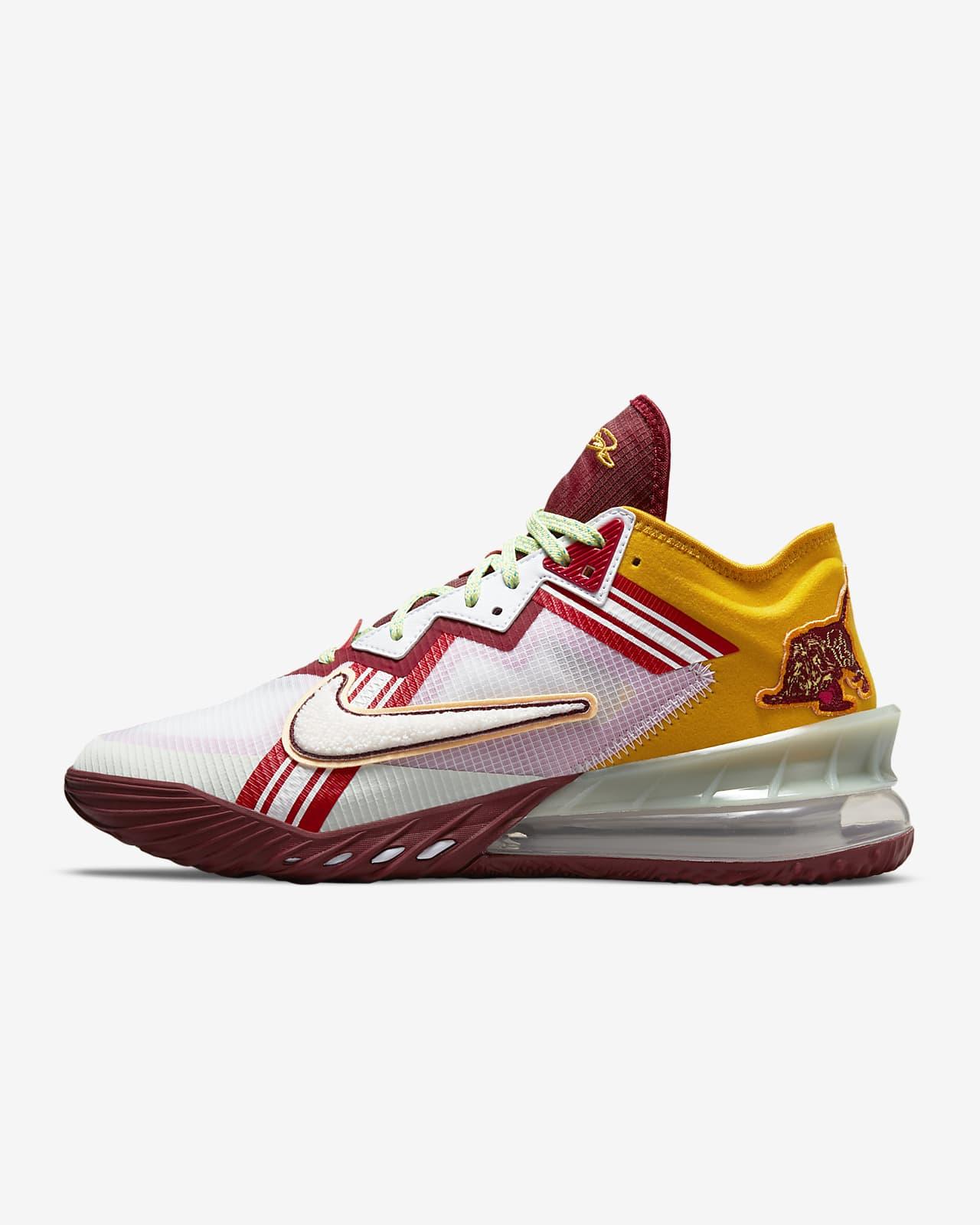 """LeBron 18 Low x Mimi Plange """"Higher Learning"""" Basketbol Ayakkabısı"""