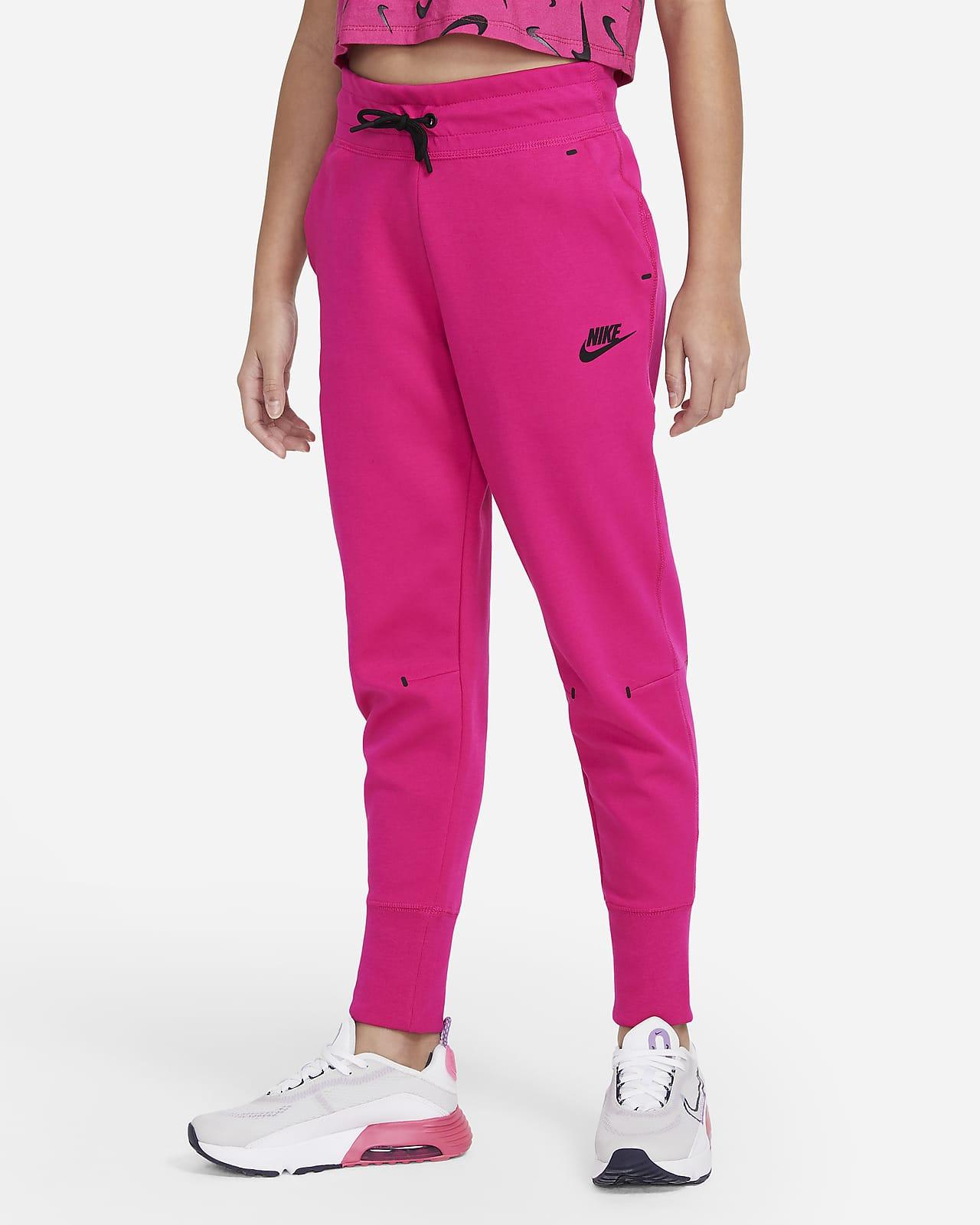 Nike Sportswear Tech Fleece Big Kids' (Girls') Pants