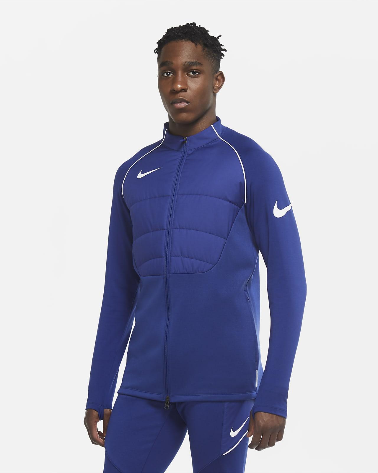 Nike Therma Strike Winter Warrior-fodboldtræningsjakke til mænd