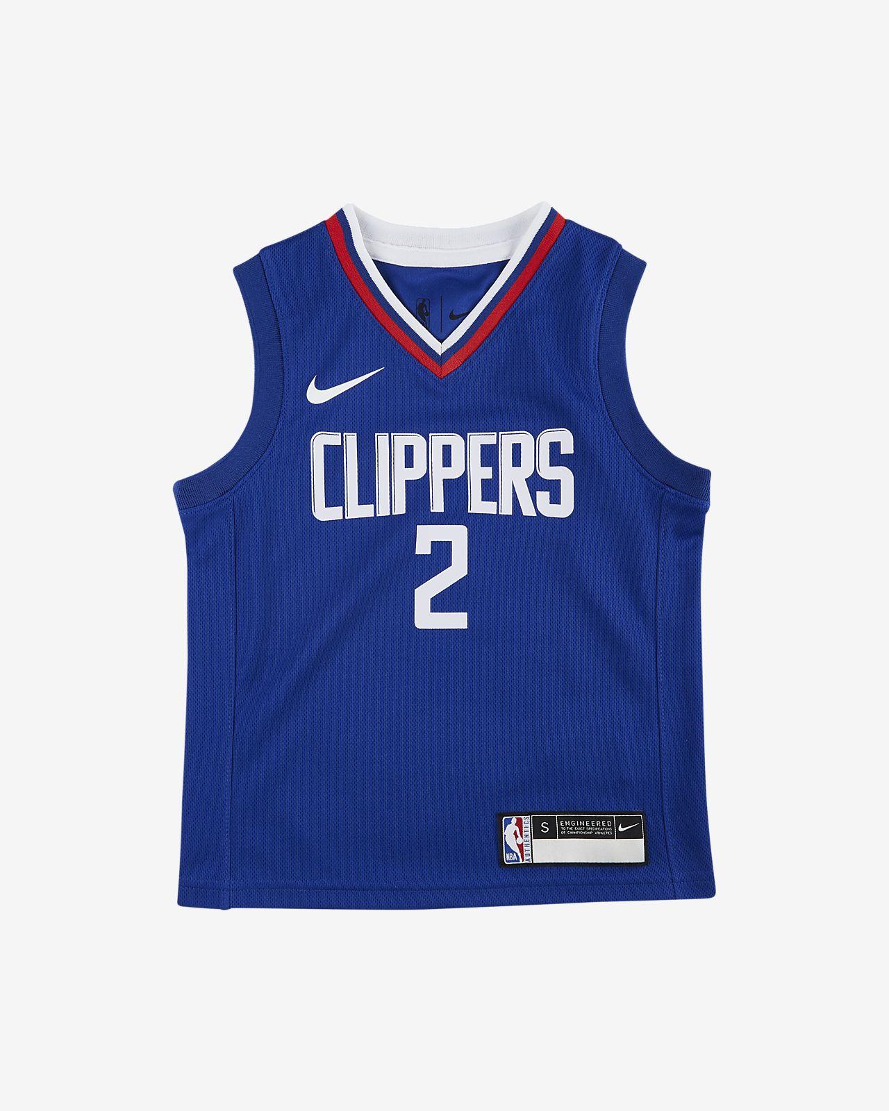 洛杉矶快船队 (Kawhi Leonard) Icon Edition Nike NBA Replica Jersey 幼童球衣