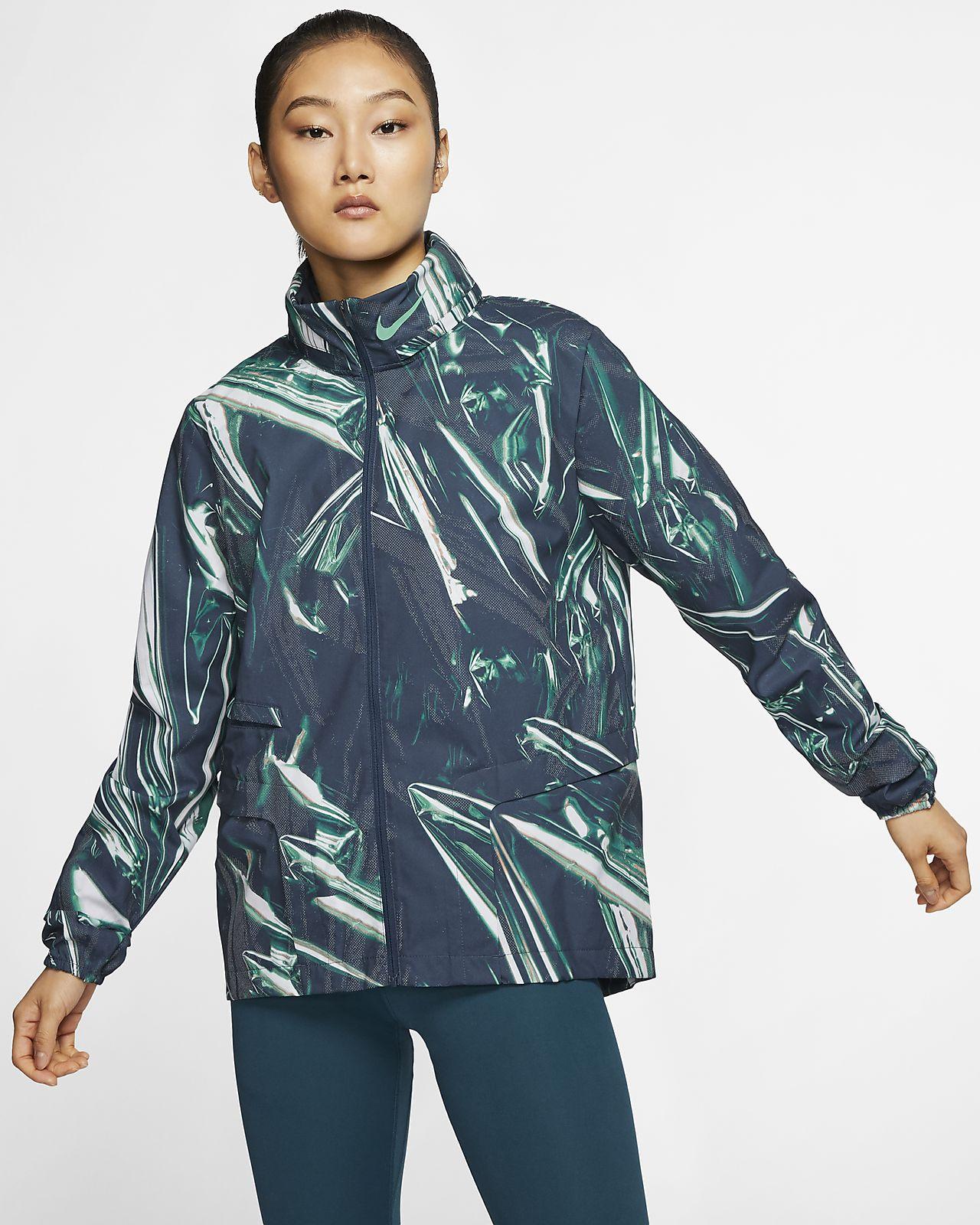 Veste de running à zip intégral Nike Shield pour Femme
