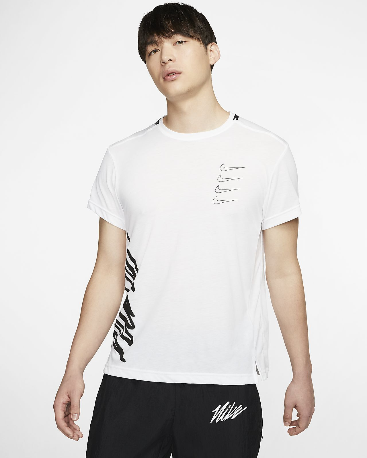 Мужская футболка с коротким рукавом для тренинга Nike