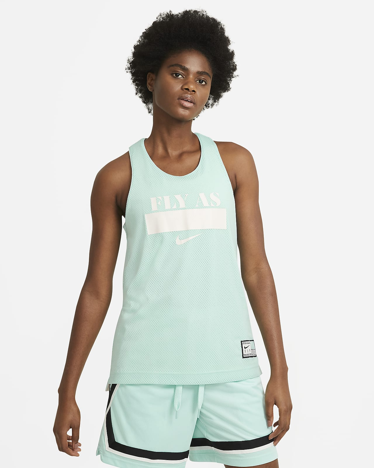 Nike Essential Fly wendbares Basketball-Trkot für Damen