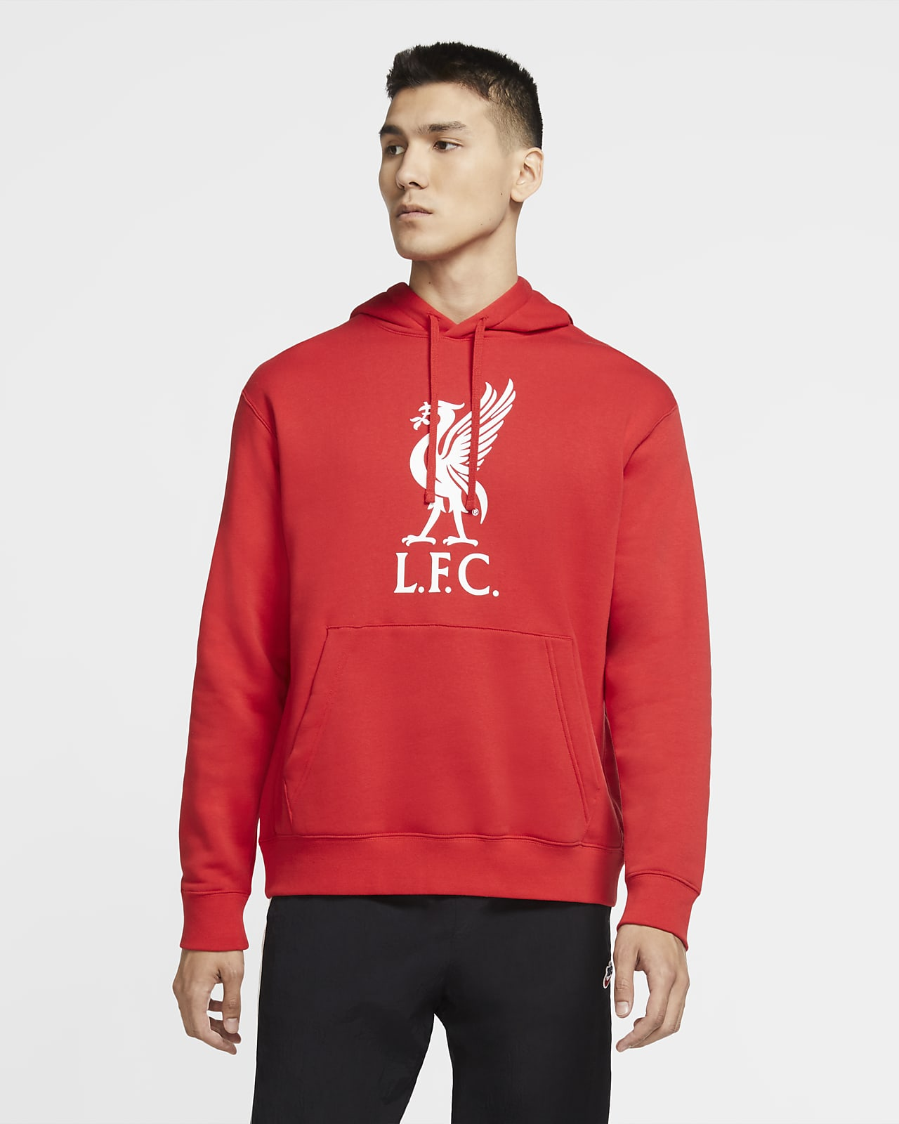 Liverpool FC Club Erkek Kapüşonlu Sweatshirt'ü