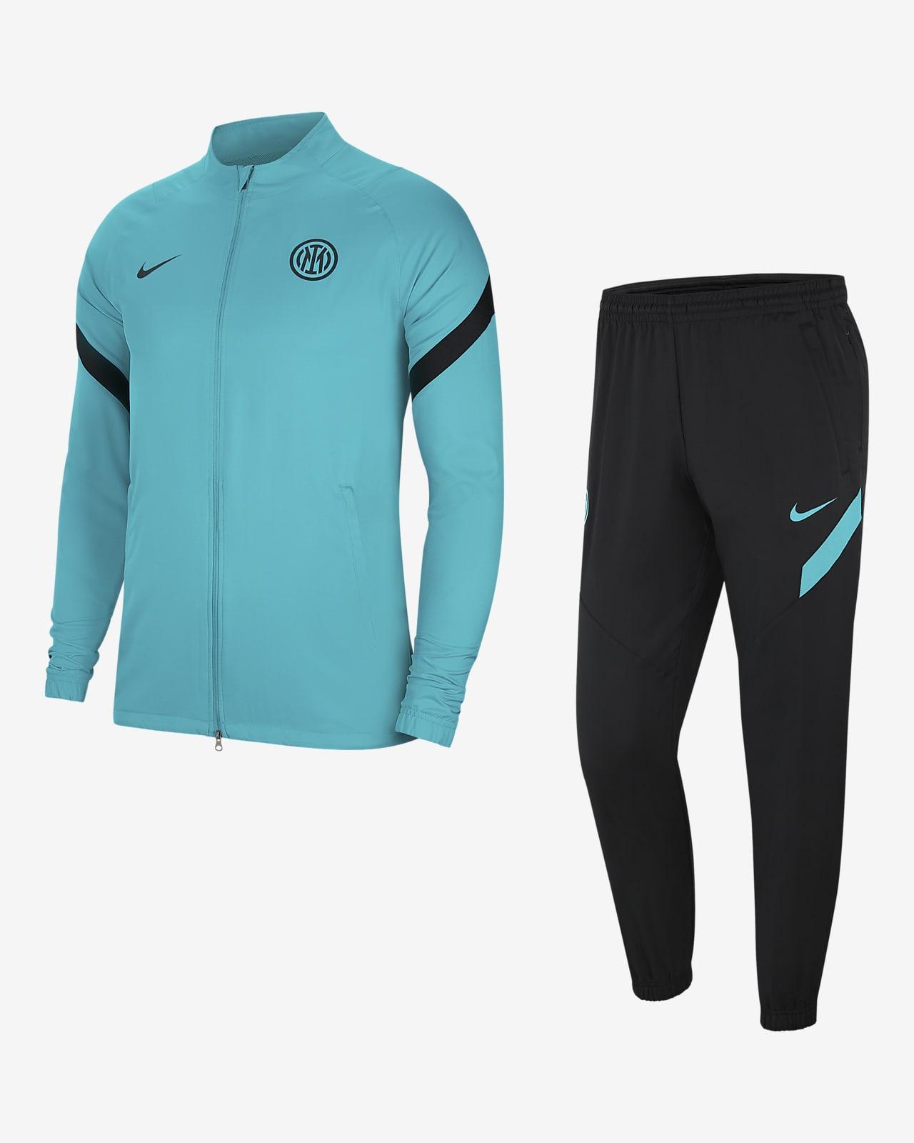 Inter de Milà Strike Xandall Nike Dri-FIT de futbol - Home