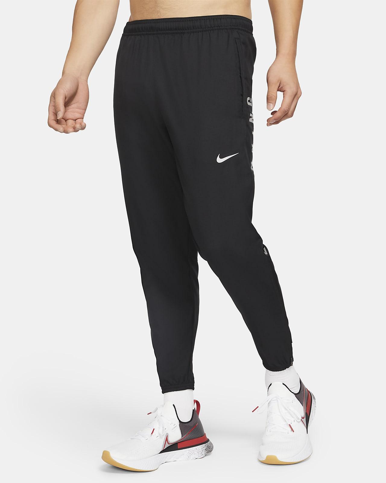 Pánské tkané běžecké kalhoty Nike Essential Run Division