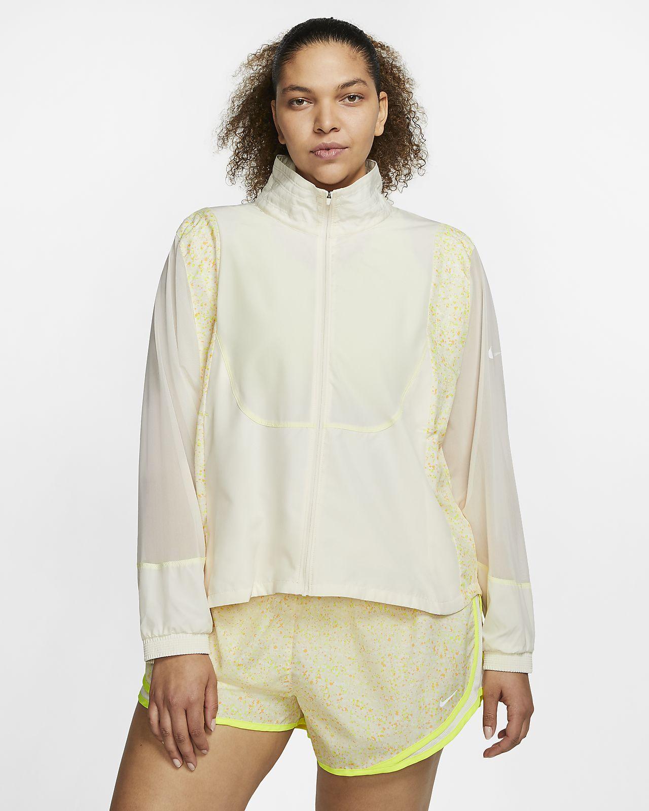 Nike Icon Clash Women's Running Jacket (Plus Size)