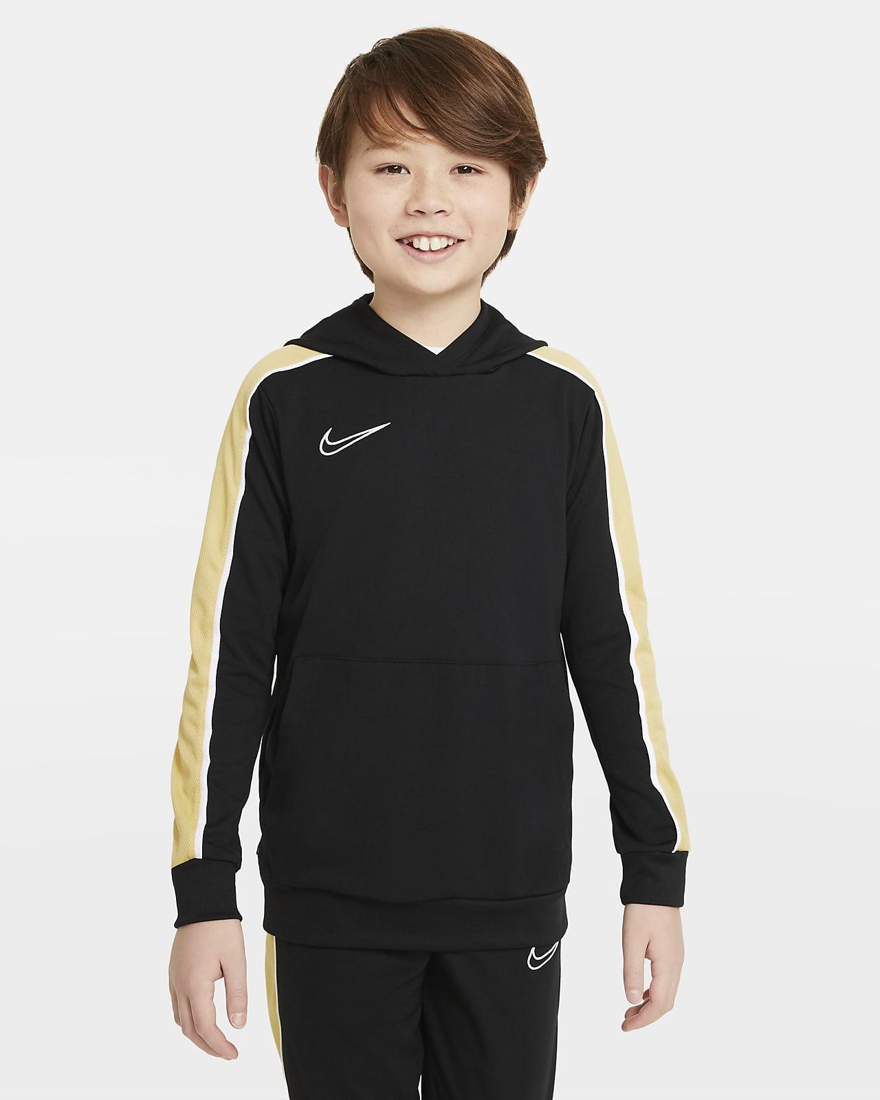 Nike Dri-FIT Academy Big Kids' Soccer Pullover Hoodie