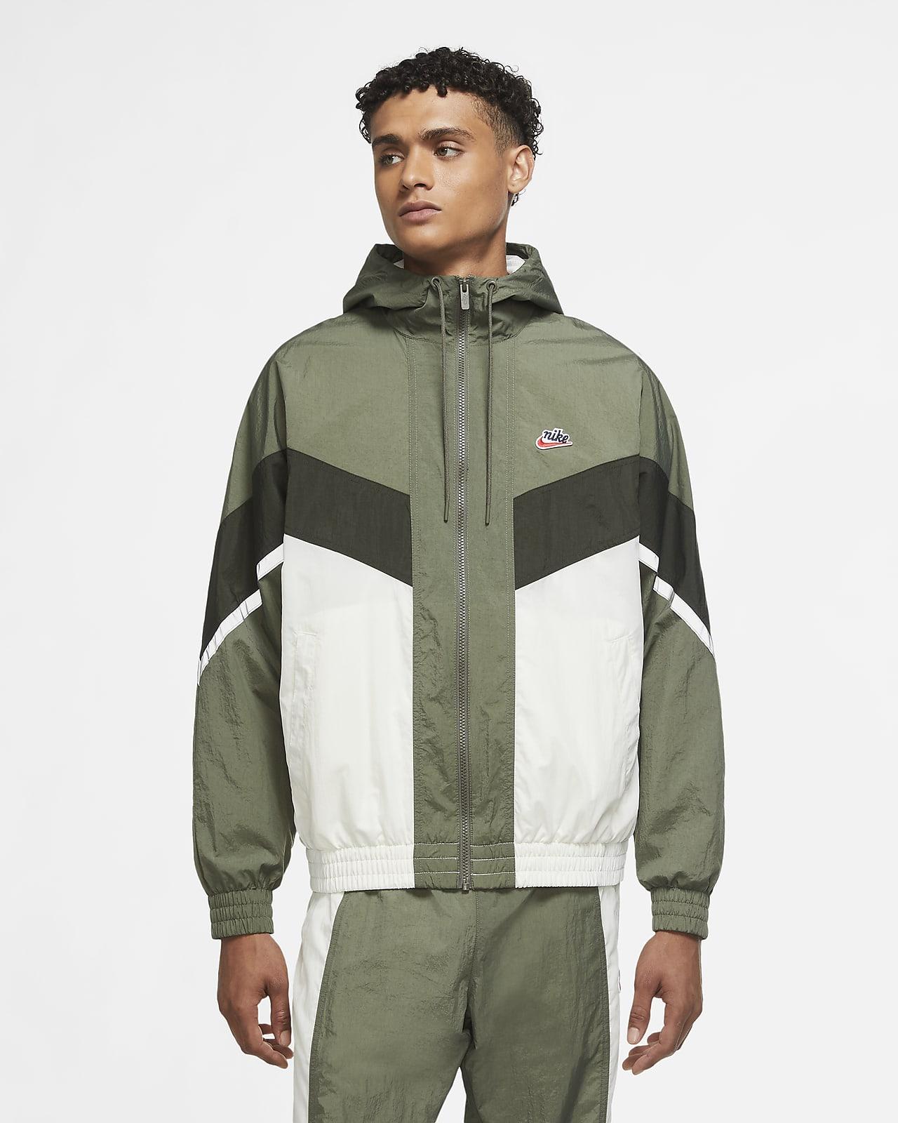 Chamarra para hombre Nike Sportswear Heritage Windrunner
