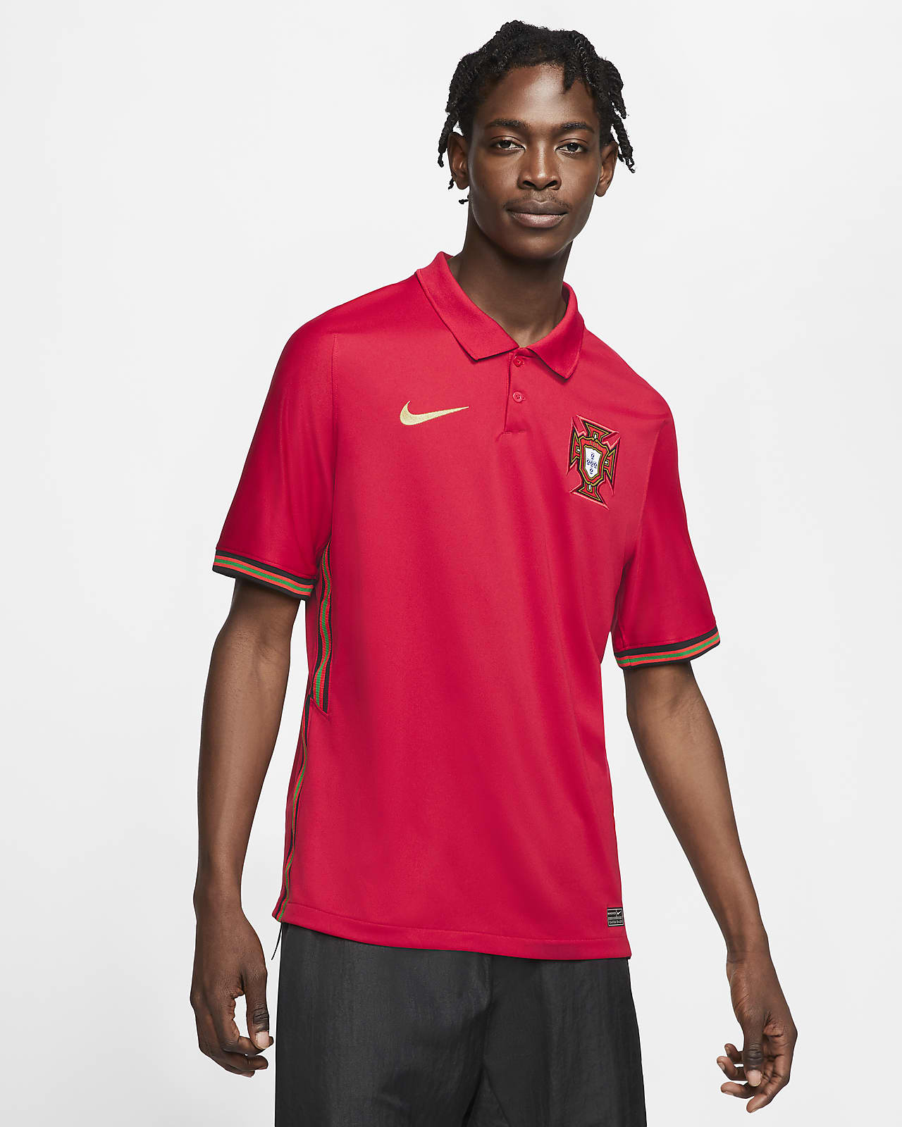 Portugal 2020 Stadium Home Men's Football Shirt
