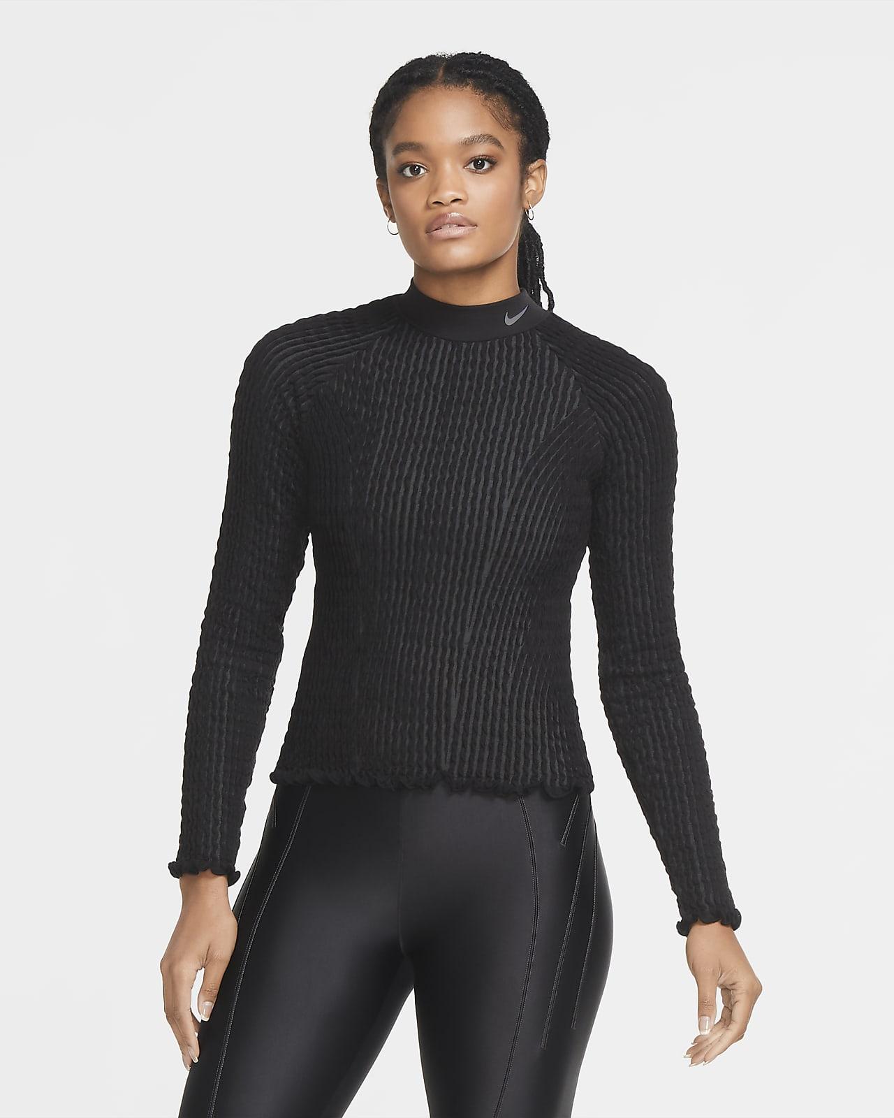Nike City Ready Women's Seamless Long-Sleeve Top