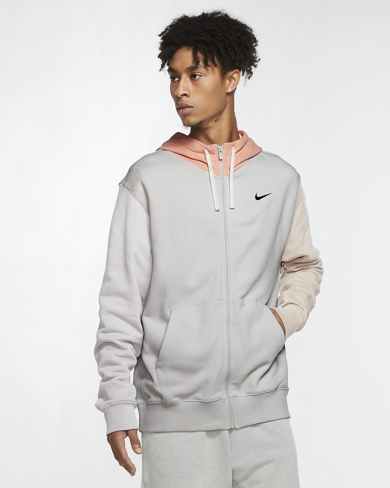 Sweat à capuche et zip Nike Sportswear Club Fleece pour Homme