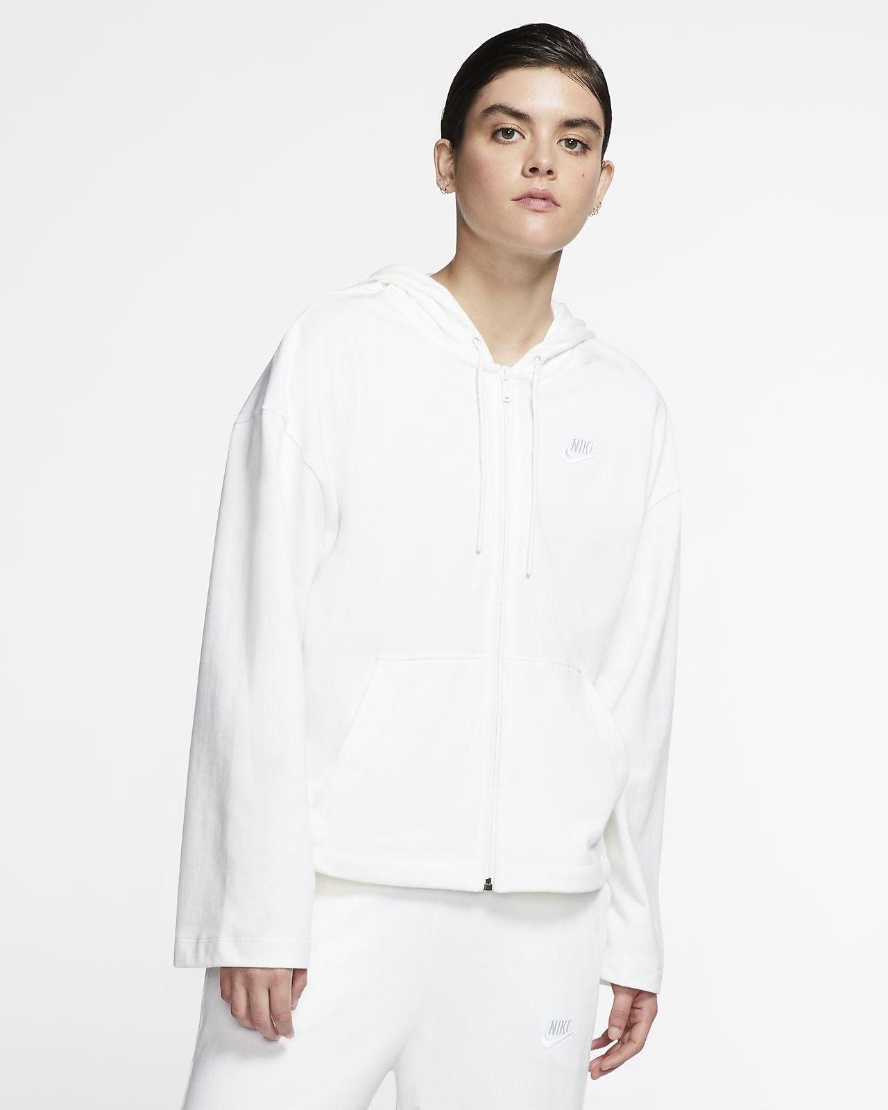 Hoodie com fecho completo Nike Sportswear para mulher