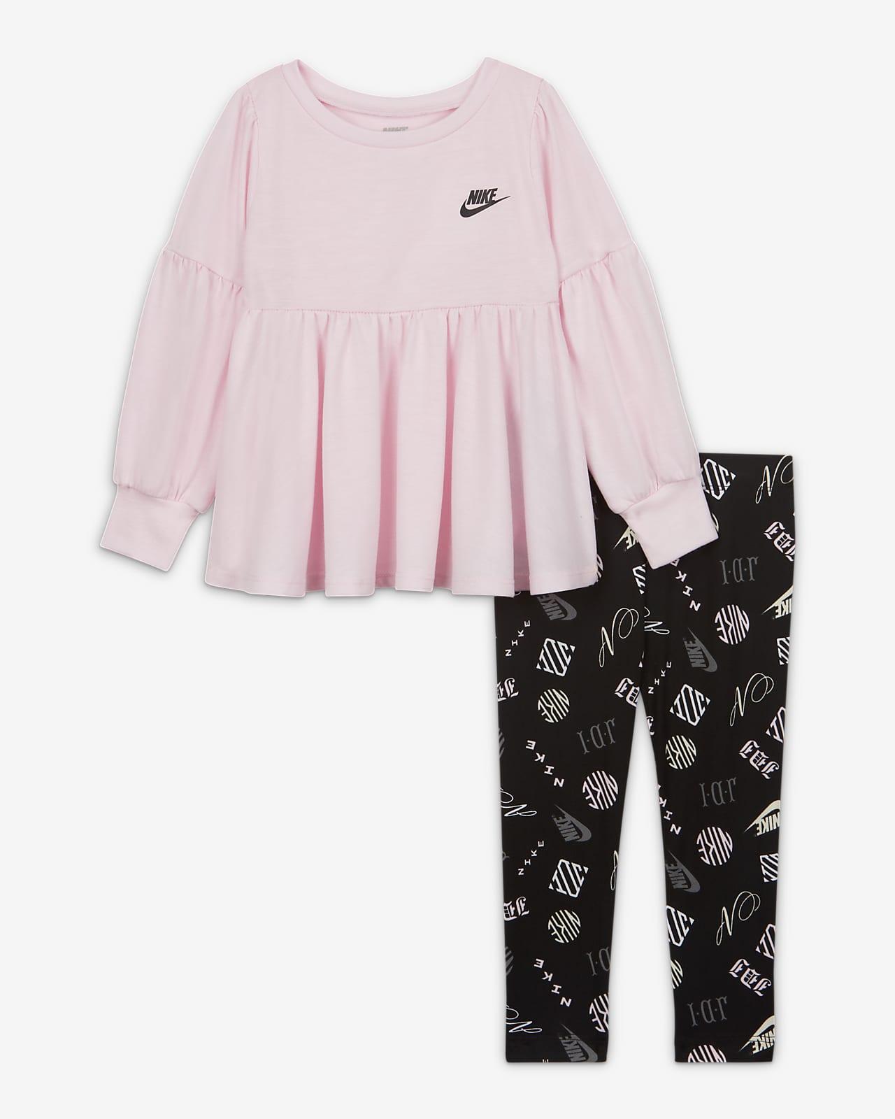 Ensemble haut et leggings Nike pour Bébé (12 - 24 mois)