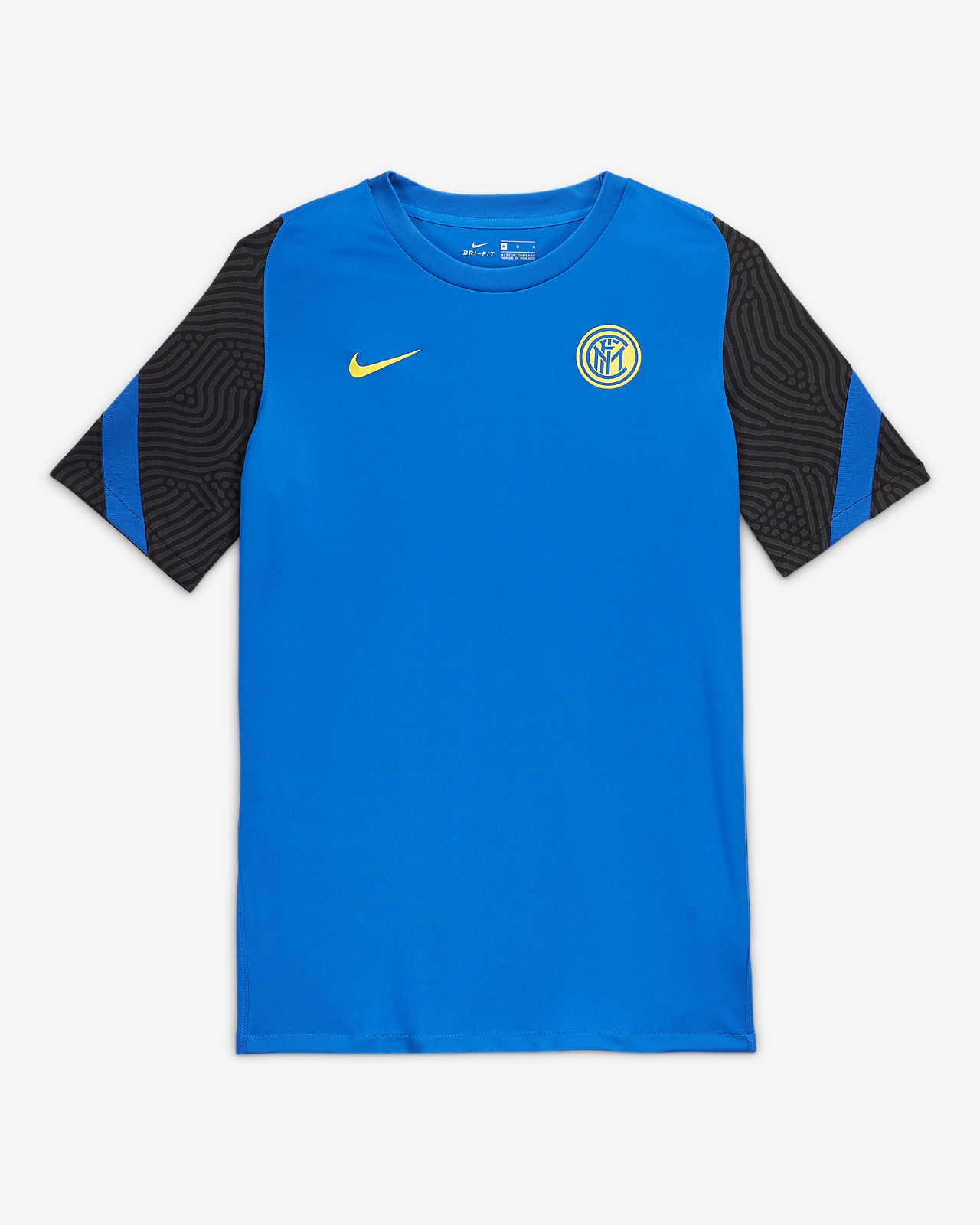 Camiseta de fútbol de manga corta para hombre Inter Milan Strike