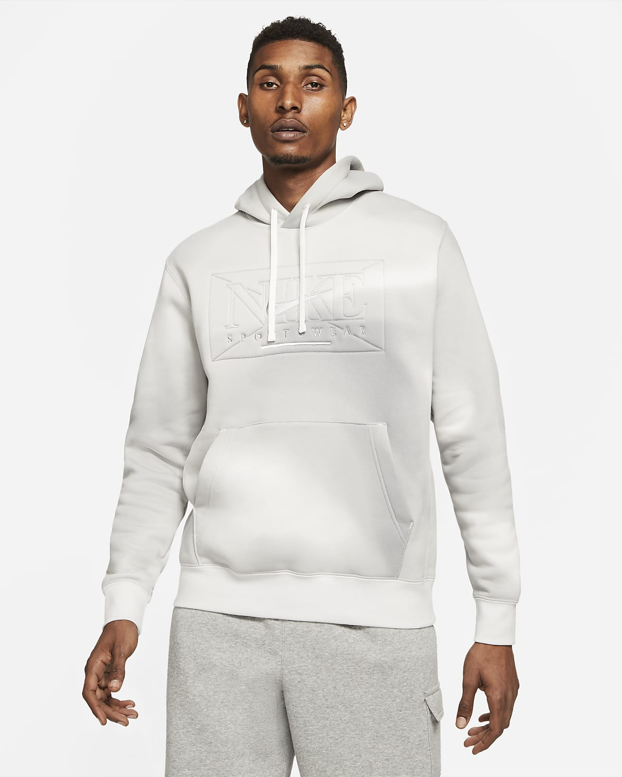 Nike Sportswear Club Fleece Men's Printed Pullover Hoodie