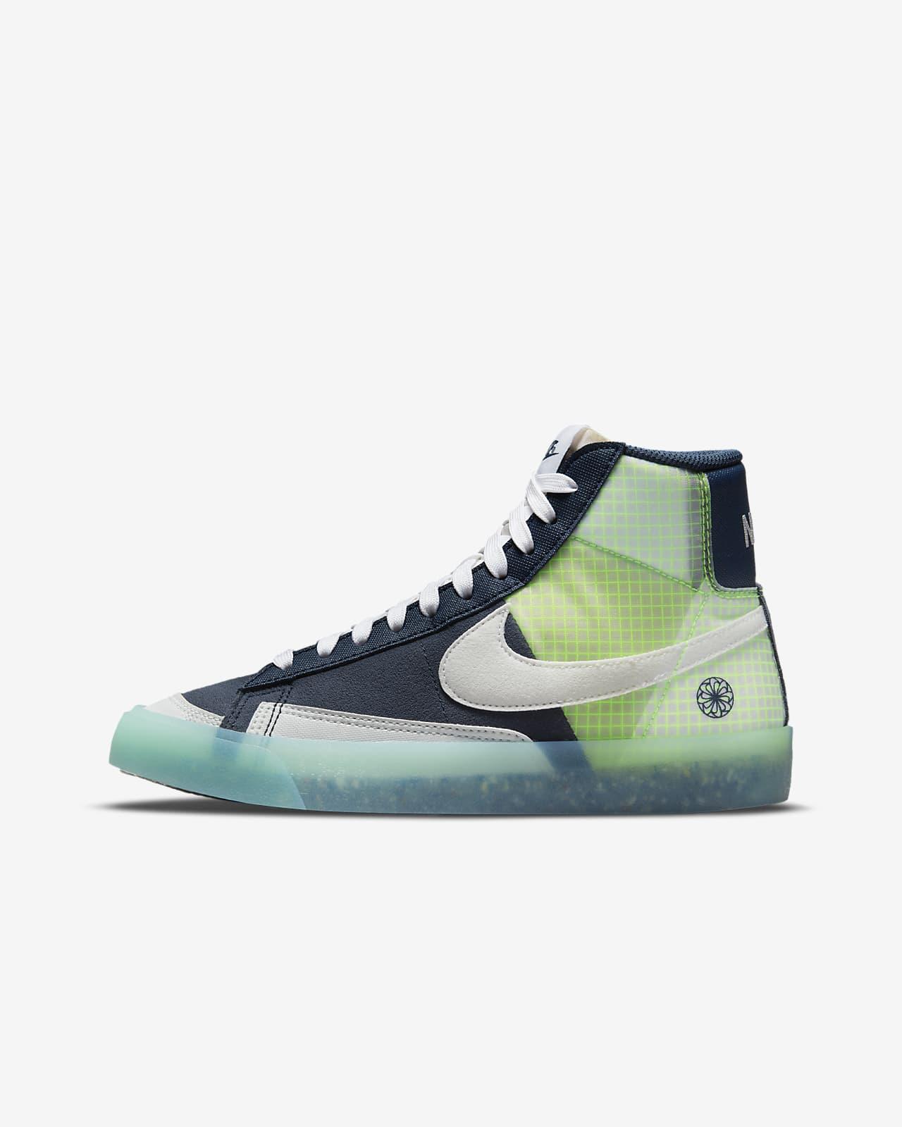 Calzado para niños talla grande Nike Blazer Mid '77