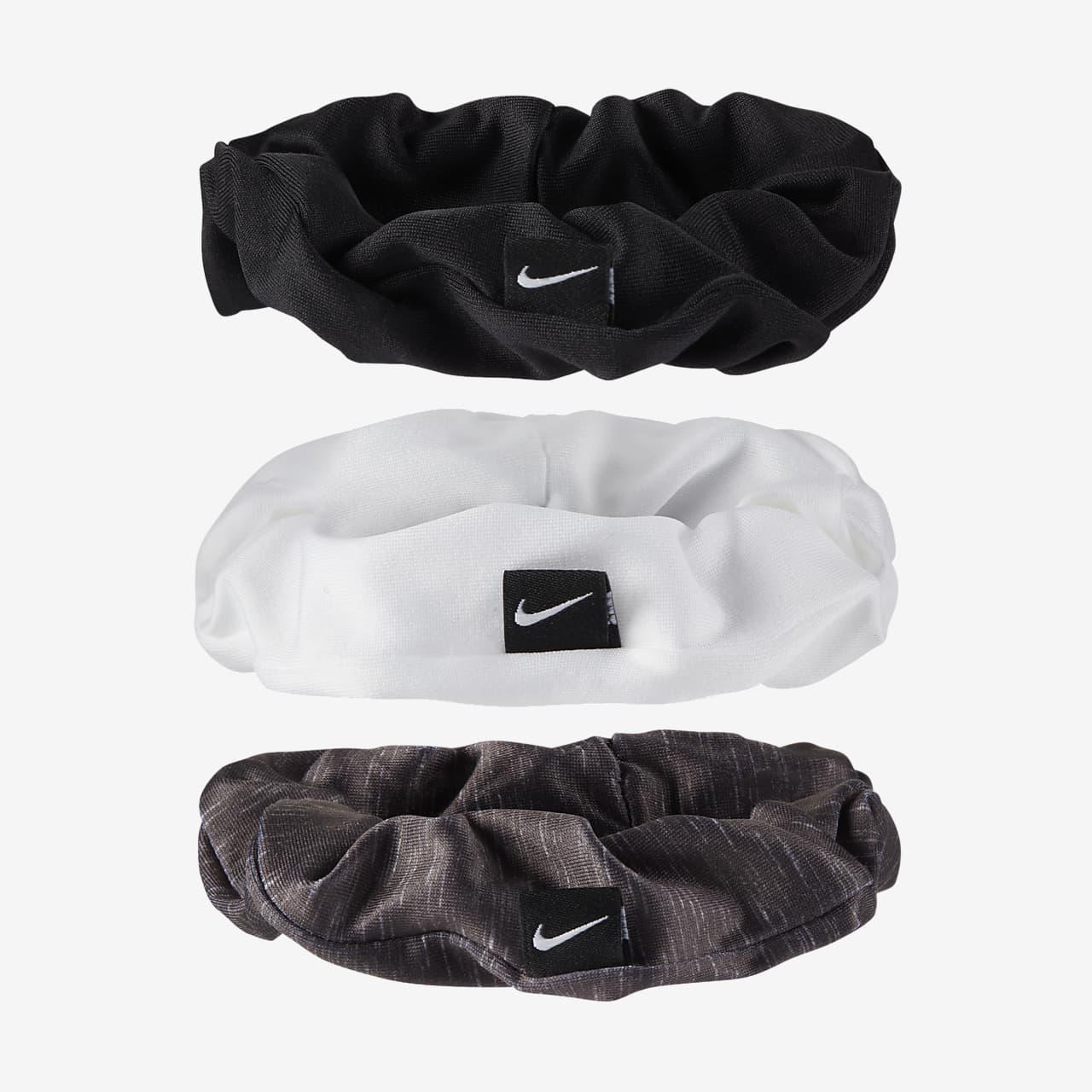 tubería duda capacidad  Cintas para el pelo fruncidas Nike (paquete de 3). Nike.com