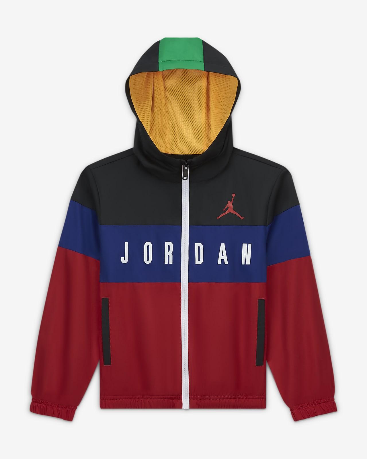 Jordan 幼童全长拉链开襟夹克