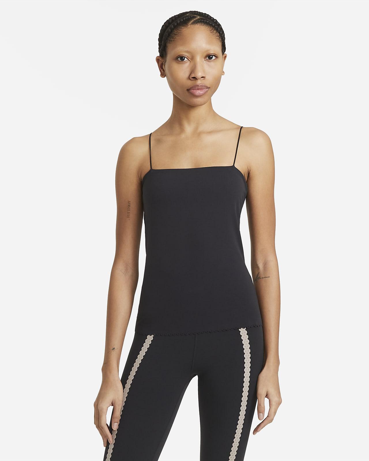 Débardeur à brassière intégrée Nike Yoga Luxe Eyelet pour Femme
