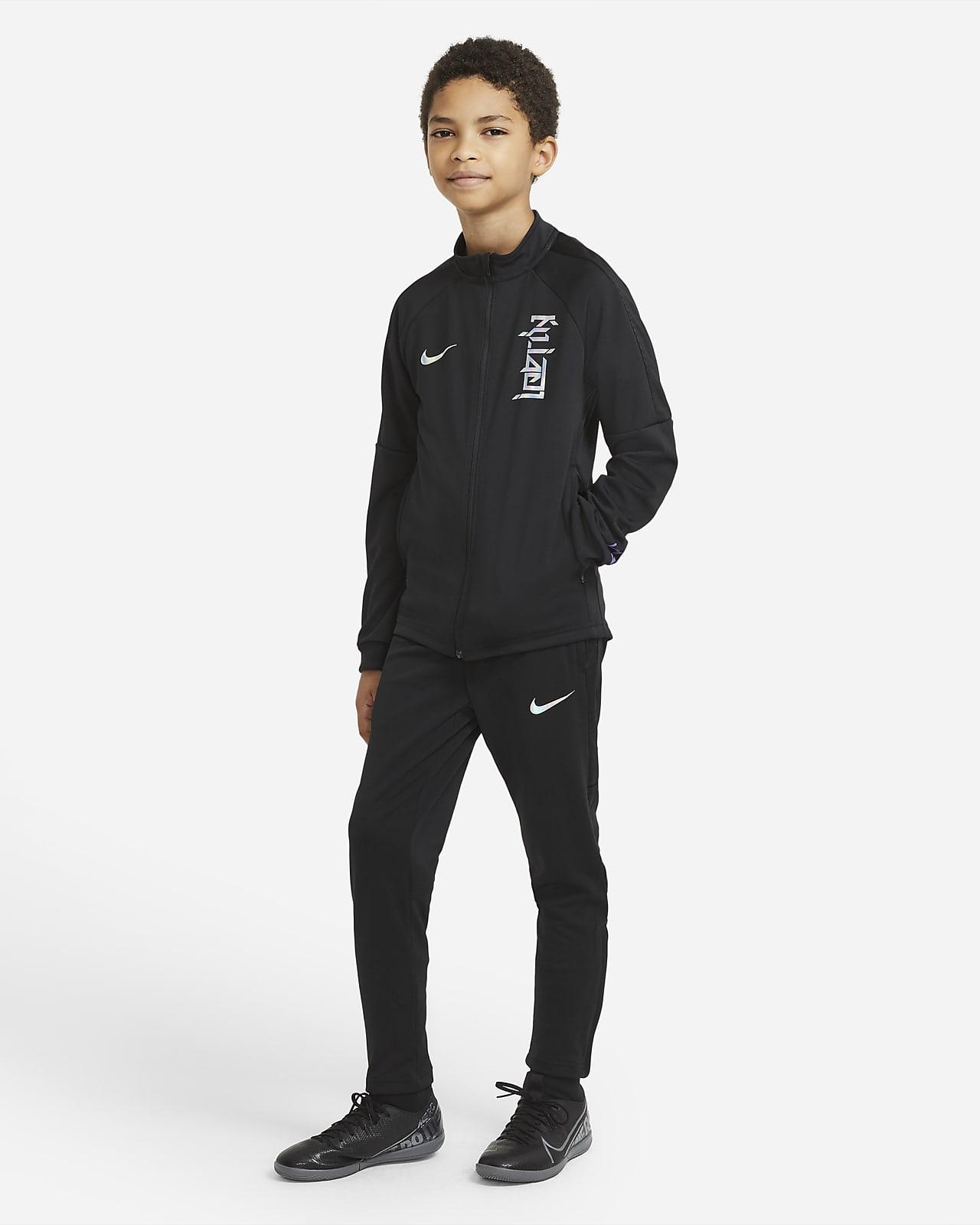 Survêtement de football en maille Nike Dri-FIT Kylian Mbappé pour Enfant plus âgé