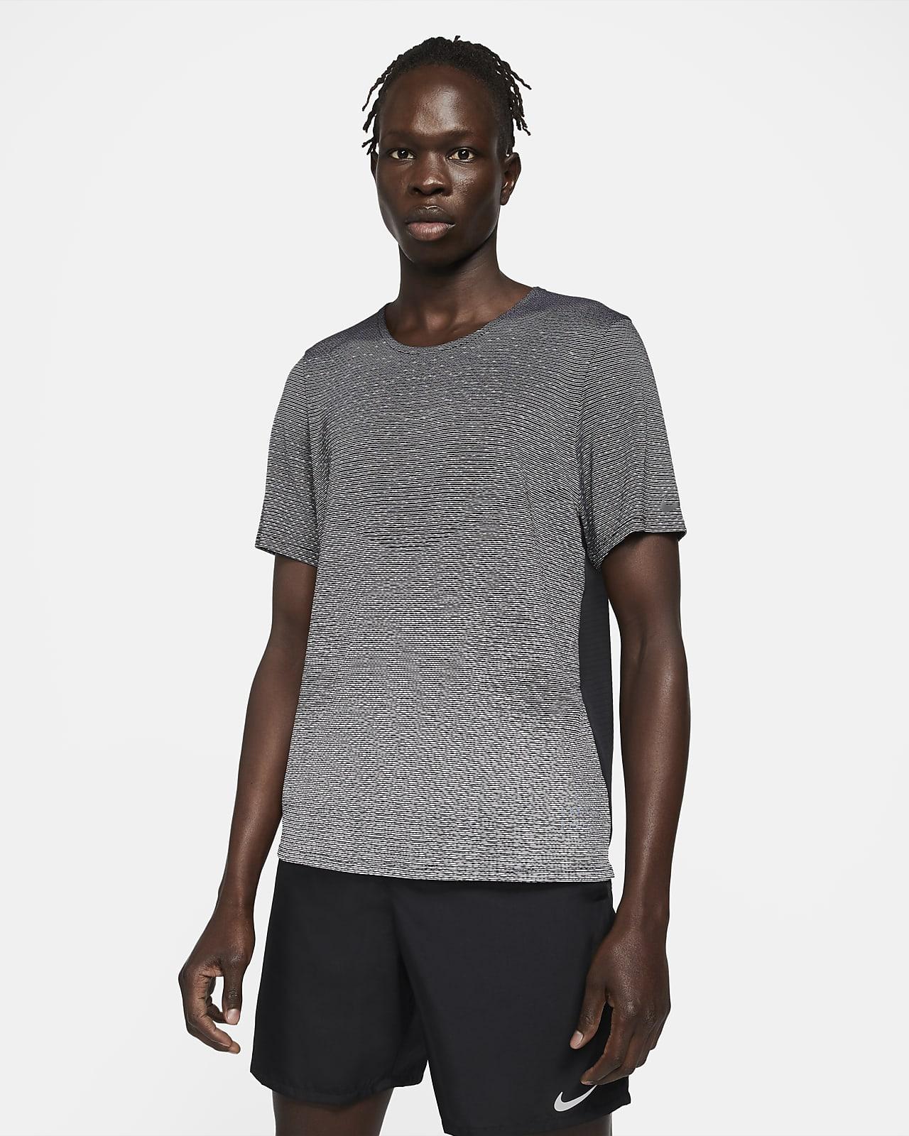 Haut de running à manches courtes Nike Pinnacle Run Division pour Homme
