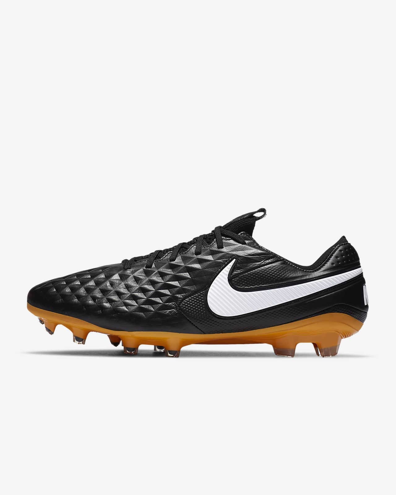 Chaussure de football à crampons pour terrain sec Nike Tiempo Legend 8 Elite Tech Craft FG