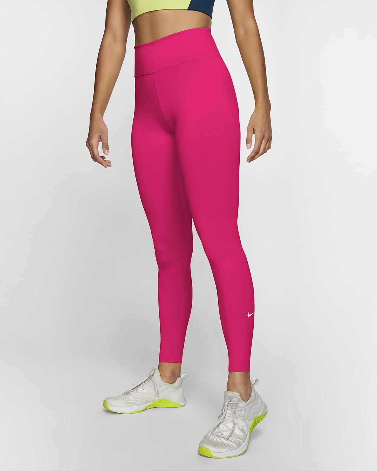 Nike One leggings med mellomhøyt liv til dame