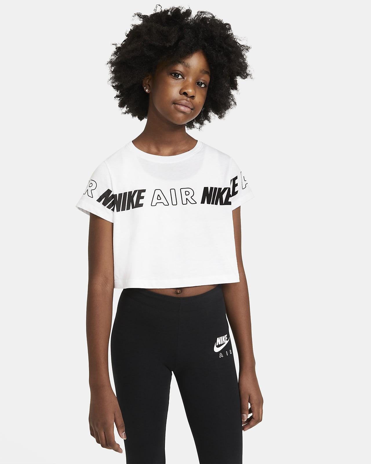 Nike Air Older Kids' (Girls') Cropped T-Shirt