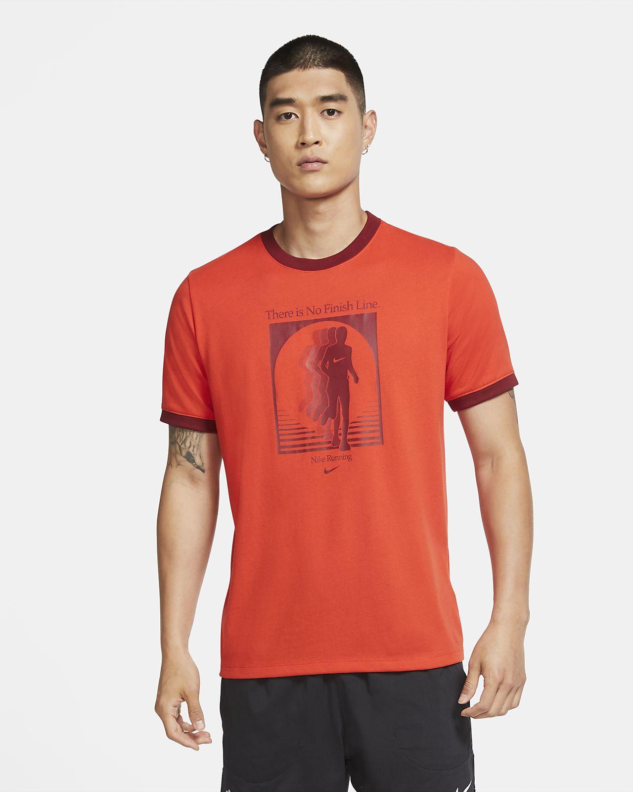 Nike Dri-FIT 男款跑步 T 恤