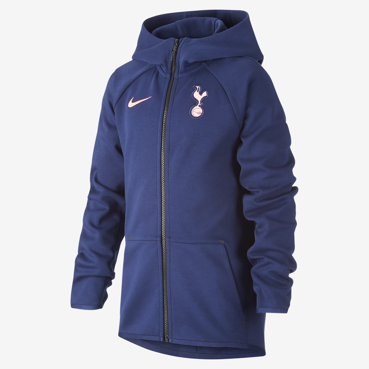 Tottenham Hotspur Tech Fleece Older Kids' Full-Zip Football Hoodie