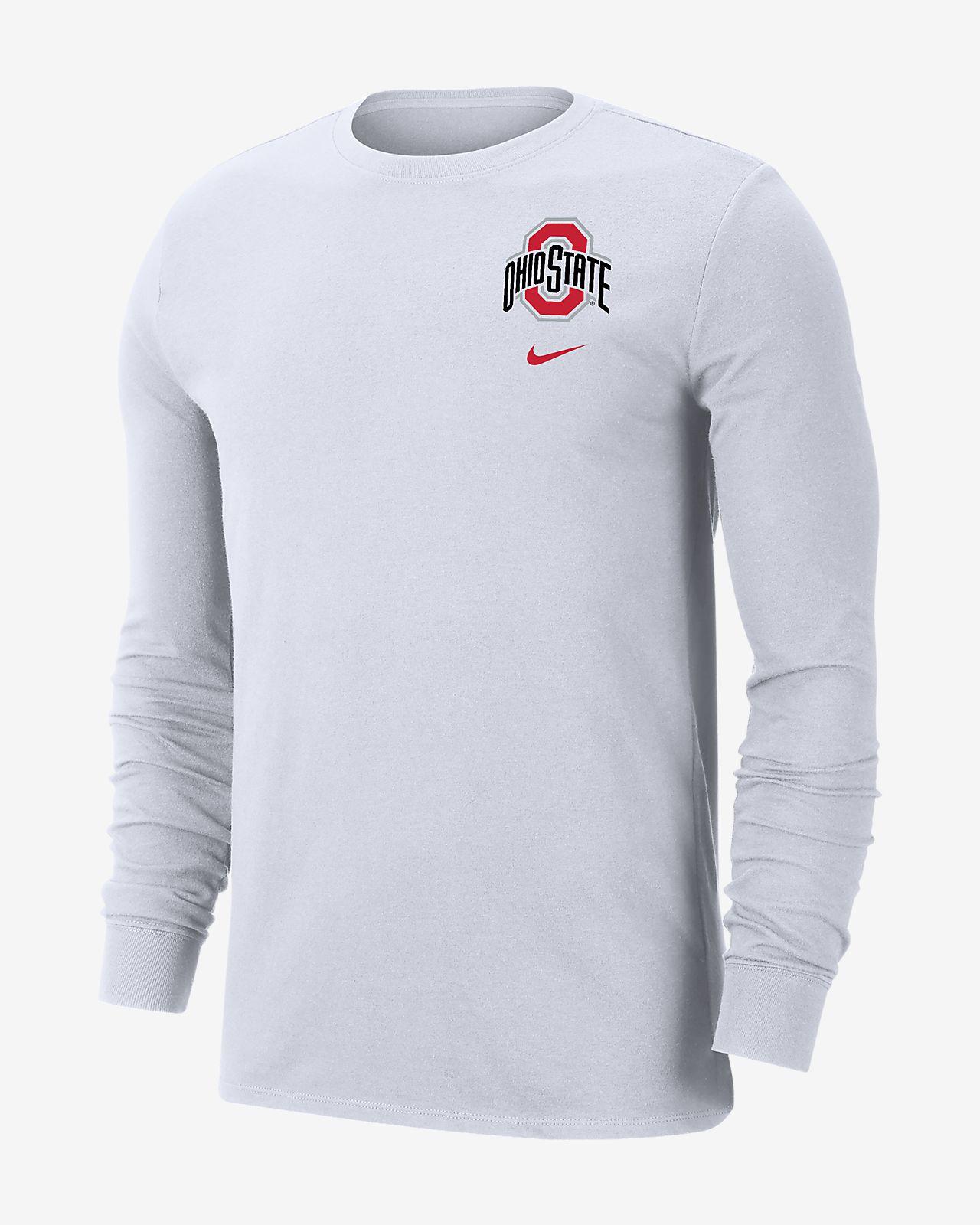 Nike College (Ohio State) Men's Long-Sleeve T-Shirt