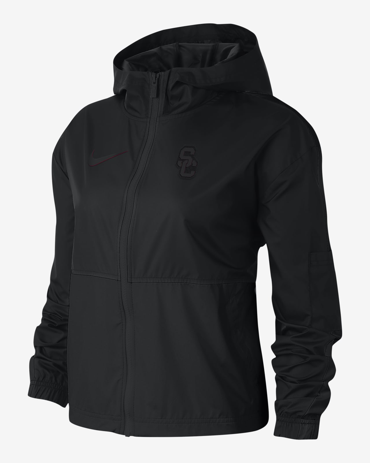 Chamarra para mujer Nike College Windrunner (USC)