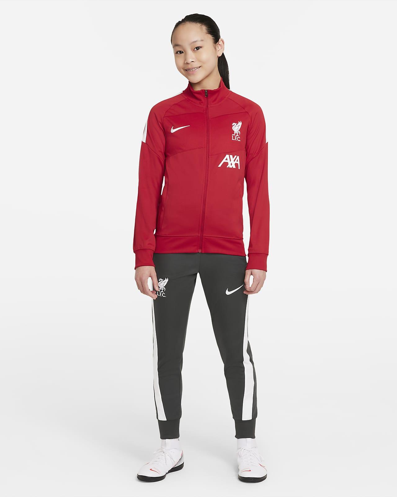 Liverpool FC Academy Pro Nike Dri-FIT Genç Çocuk Futbol Eşofmanı