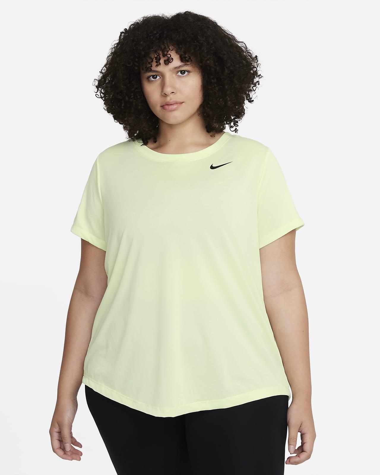 Playera de entrenamiento para mujer (talla grande) Nike Dri-FIT Legend