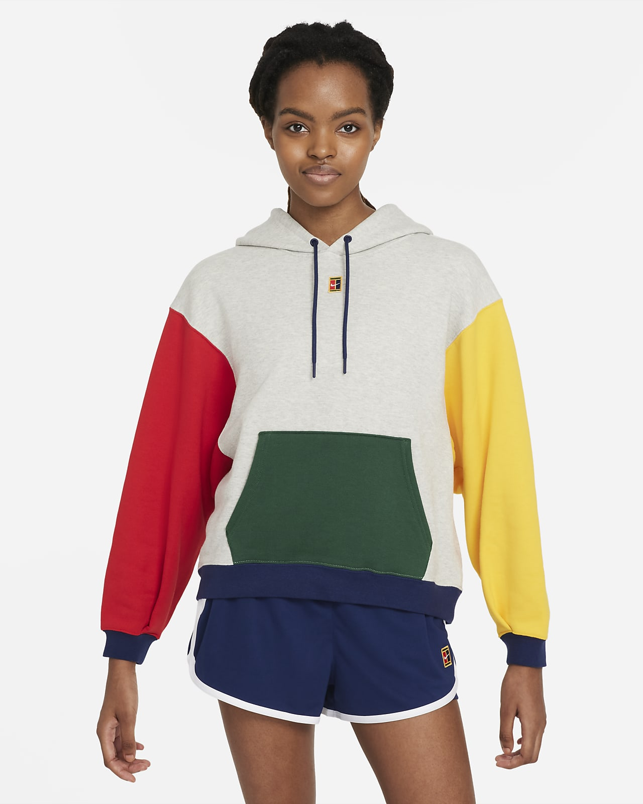 NikeCourt Women's Fleece Tennis Hoodie