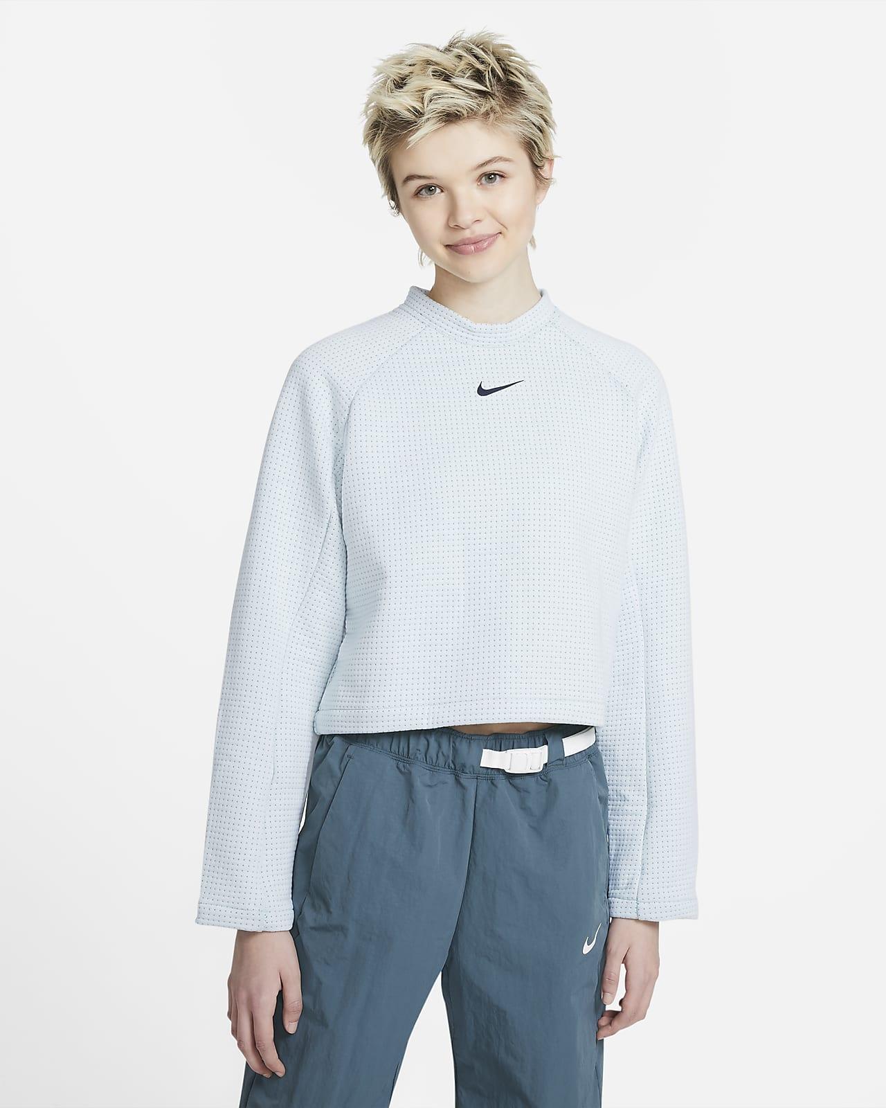 Nike Sportswear Tech Fleece Women's Long-Sleeve Top