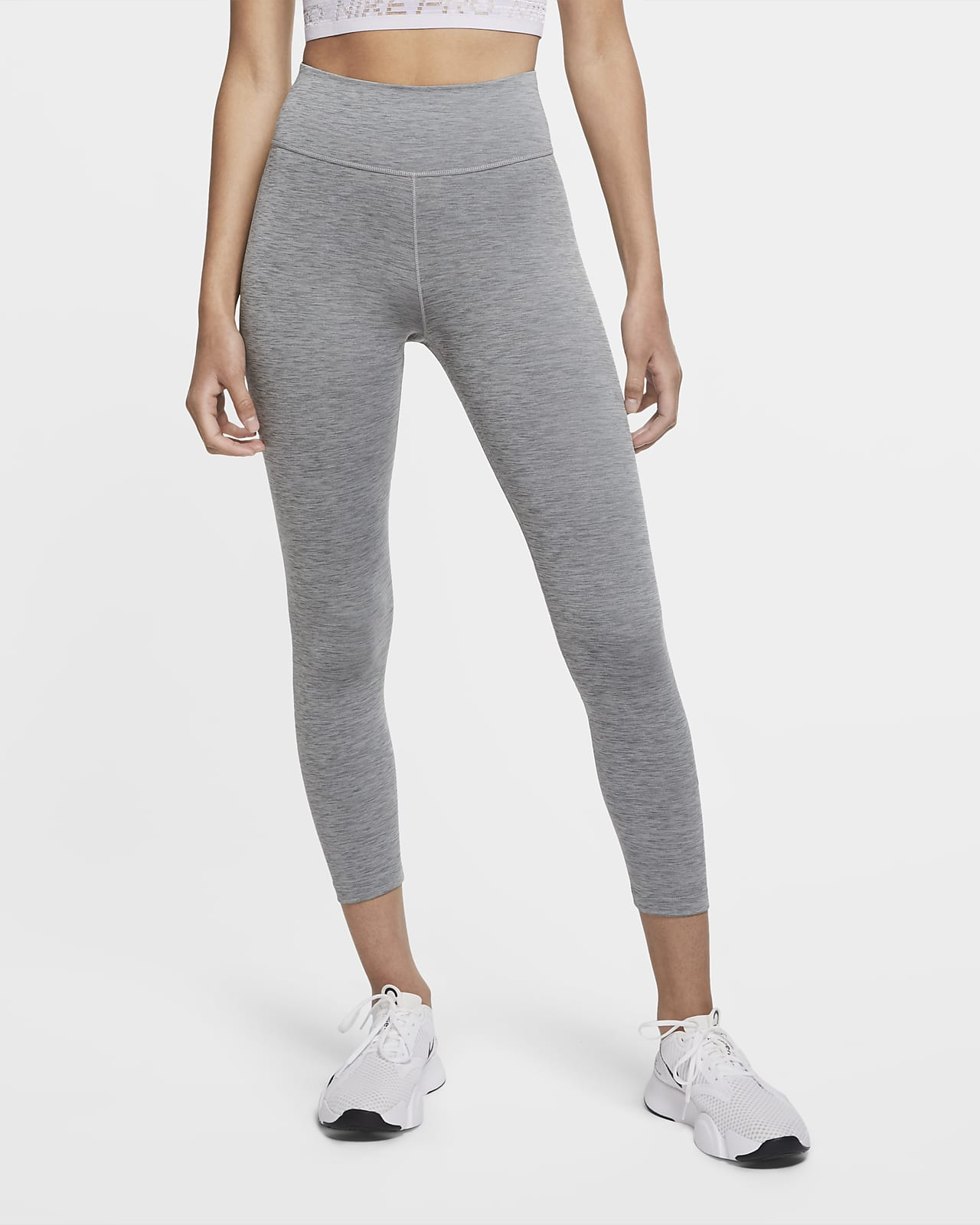 Nike One Women's Mid-Rise Crop Leggings