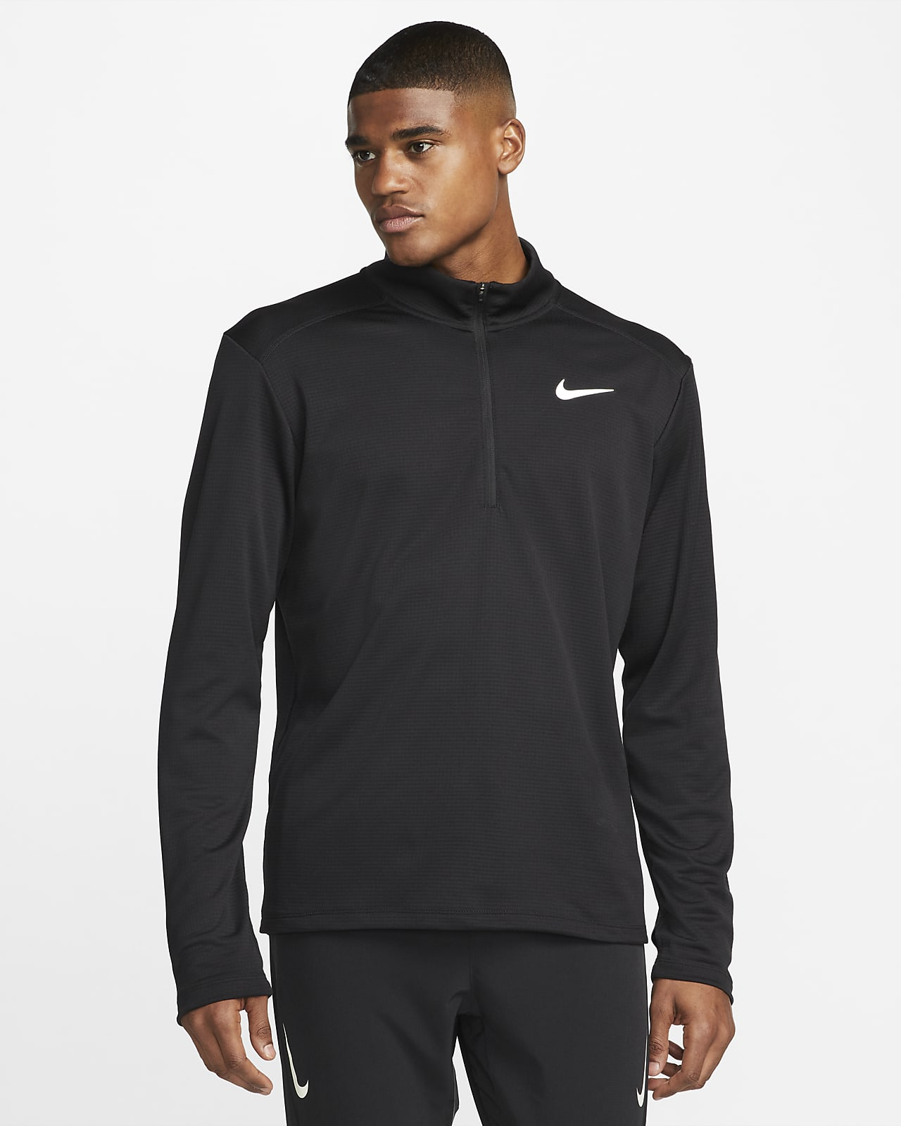 Nike Pacer Camiseta de running con media cremallera - Hombre