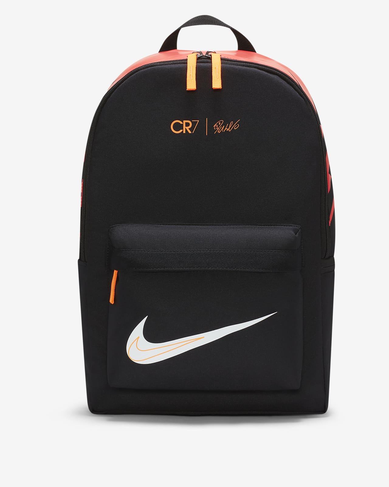 Mochila de futebol CR7 para criança