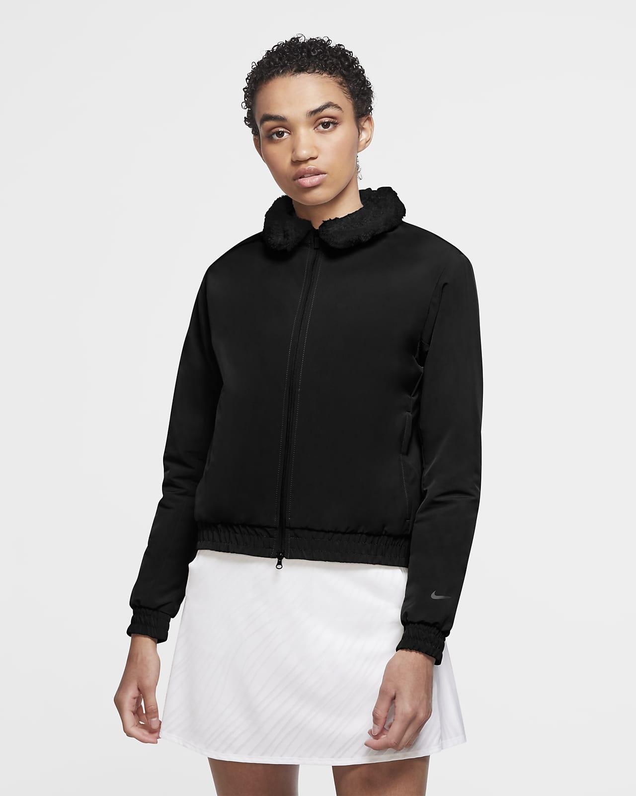 Veste aviateur de golf Nike Shield pour Femme