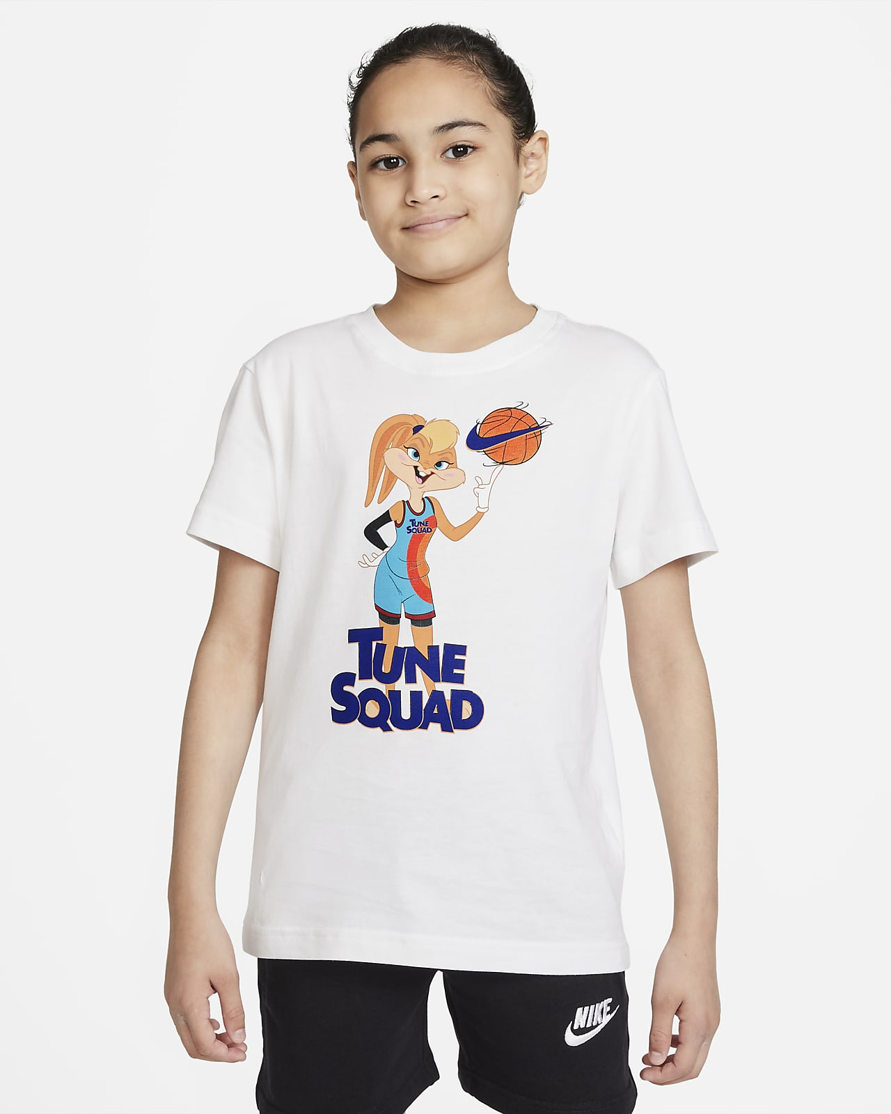 Nike Sportswear x Space Jam: A New Legacy Older Kids' (Girls') T-Shirt