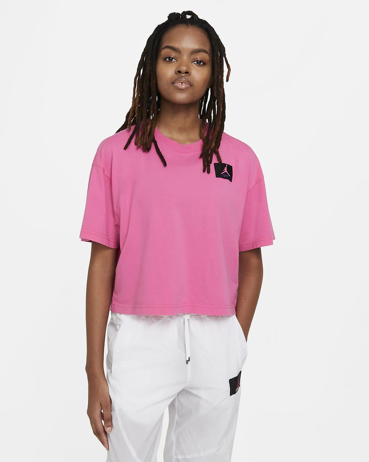 Jordan Essential szögletes fazonú, rövid ujjú női póló