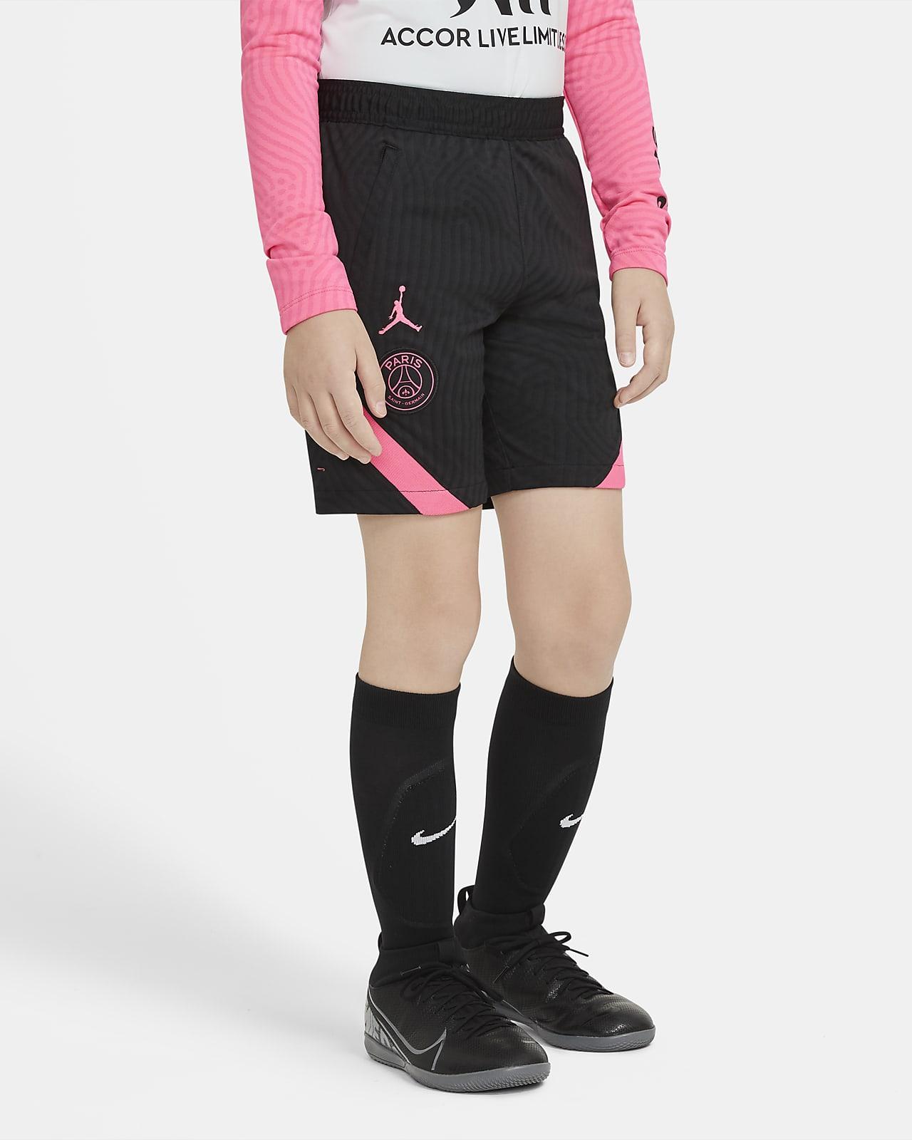 Shorts de fútbol para niños talla grande Paris Saint-Germain Strike
