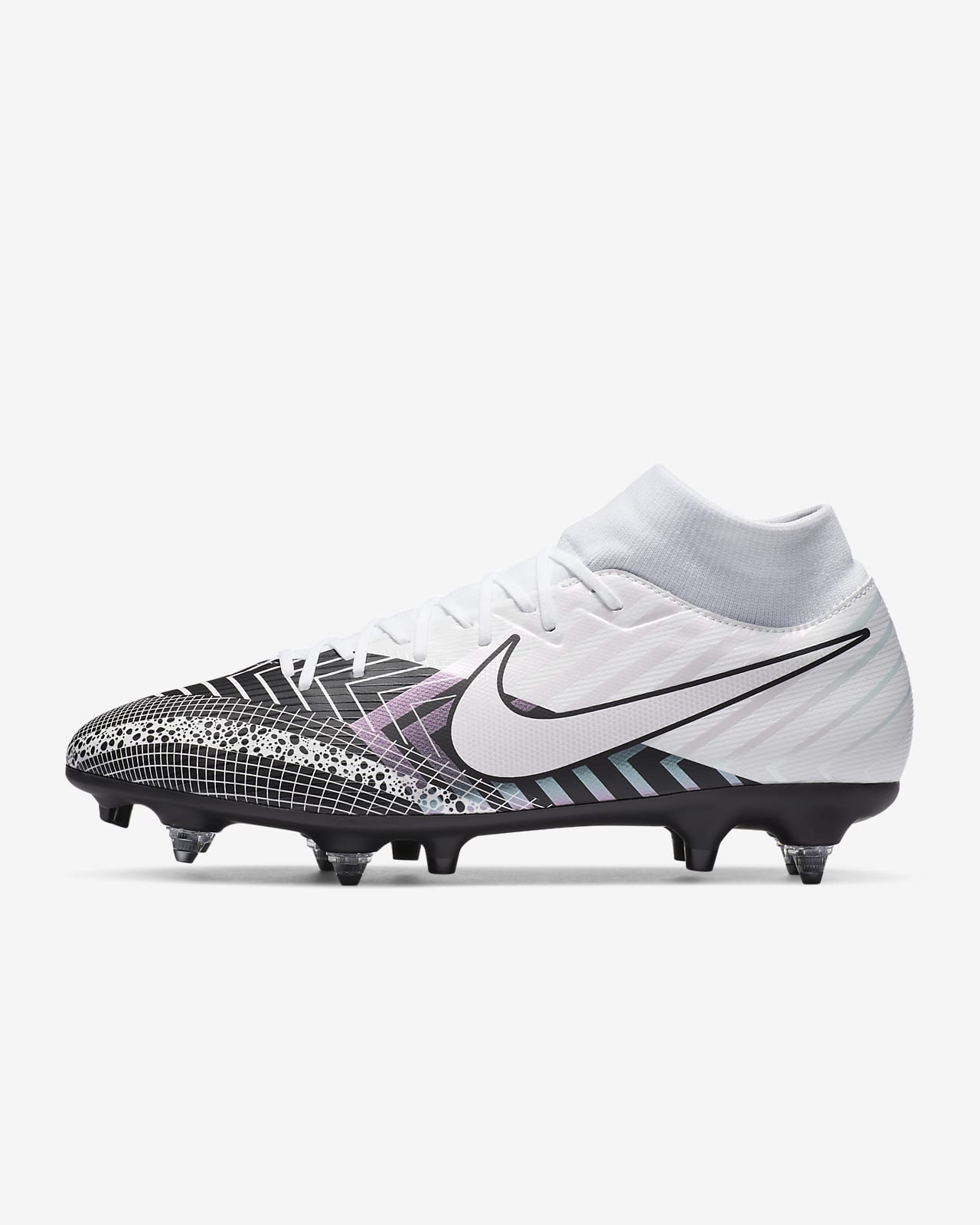 Nike Mercurial Superfly 7 Academy MDS SG-PRO Anti-clog Traction-fodboldstøvle (vådt græs)