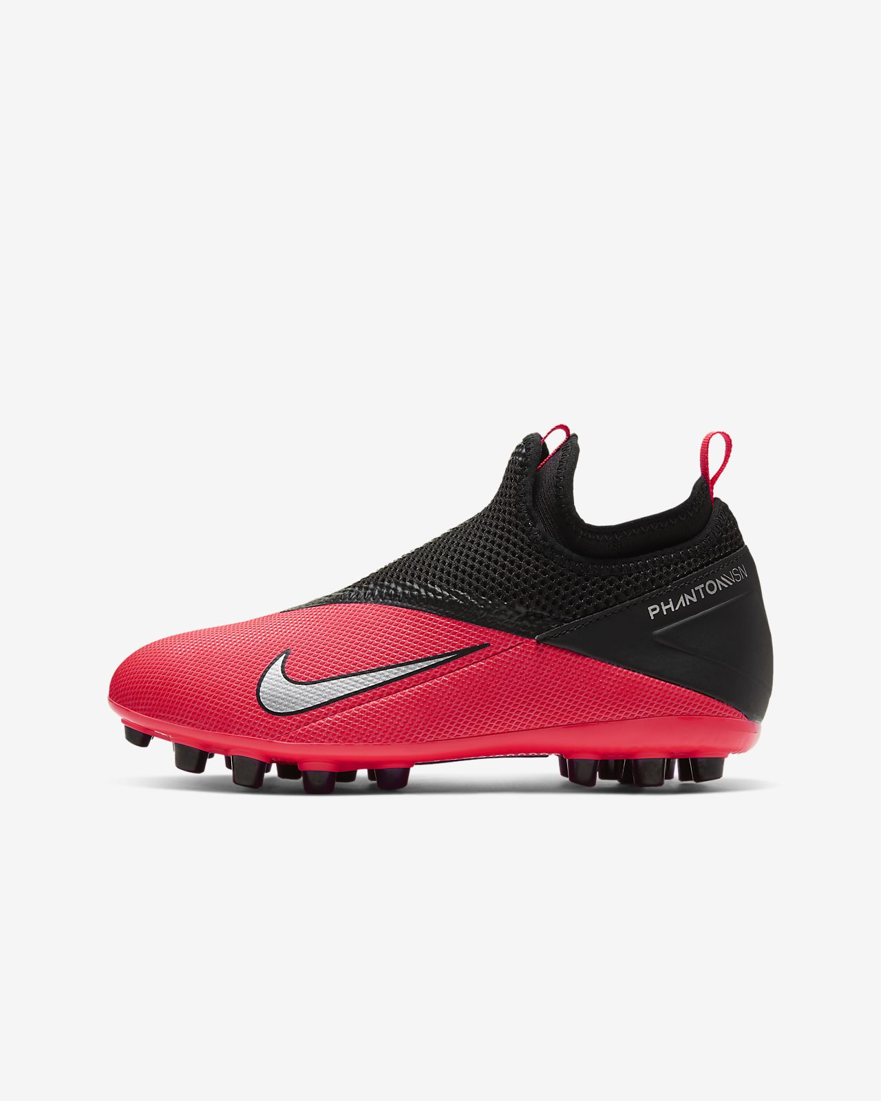 Nike Jr Phantom Vision 2 Academy Dynamic Fit AG Kids' Artificial Grass Football Boot